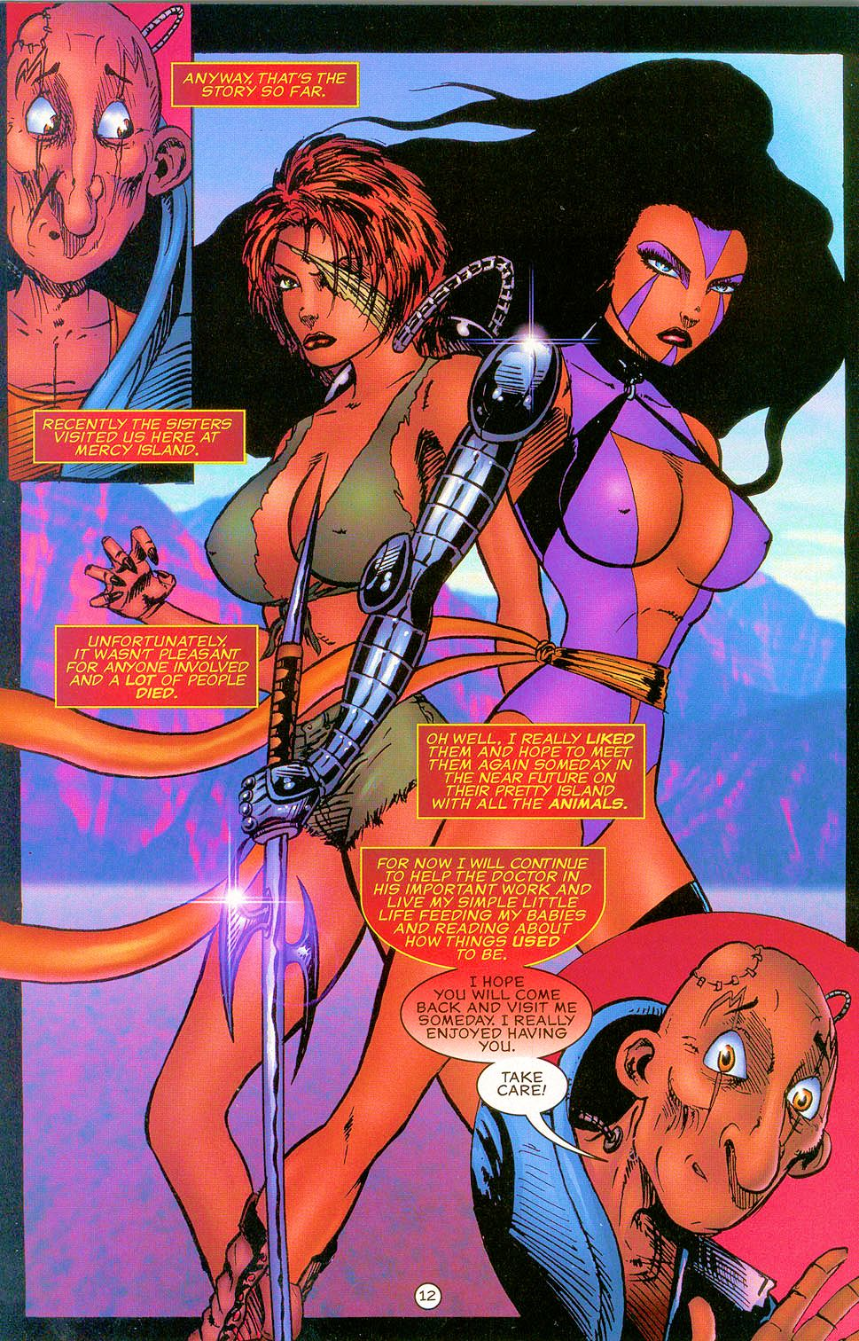 Read online Sisters of Mercy comic -  Issue #0 - 13