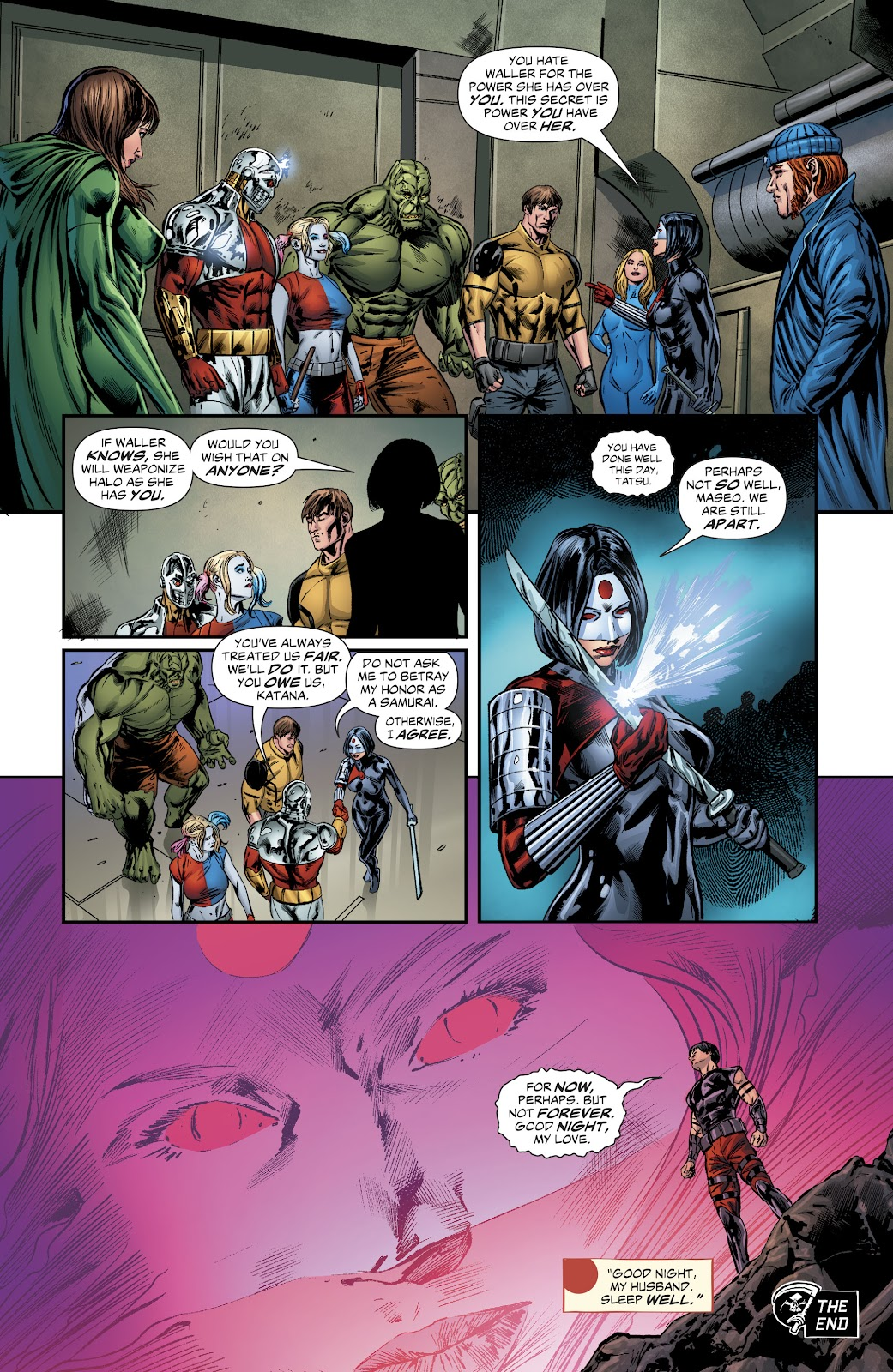 Read online Suicide Squad Black Files comic -  Issue #6 - 22