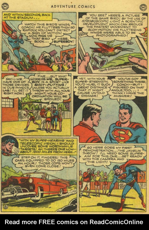Read online Adventure Comics (1938) comic -  Issue #162 - 10