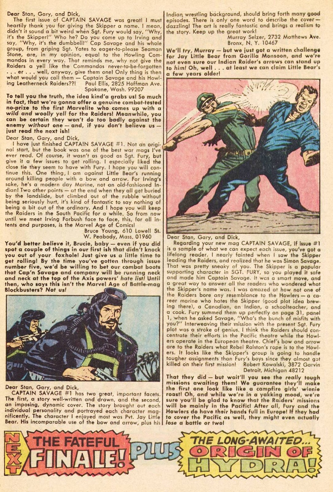 Captain Savage and his Leatherneck Raiders issue 3 - Page 33