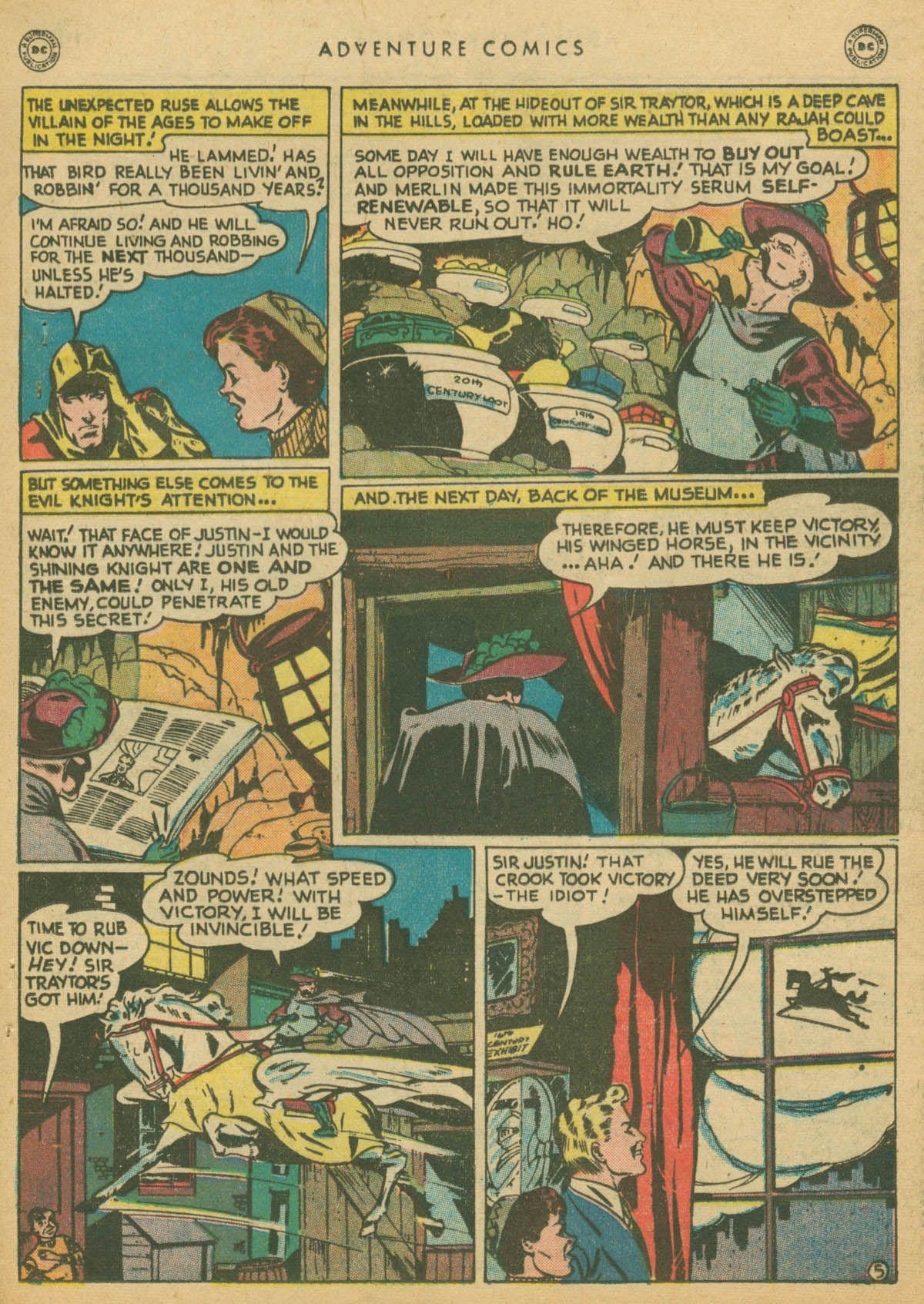 Read online Adventure Comics (1938) comic -  Issue #142 - 36