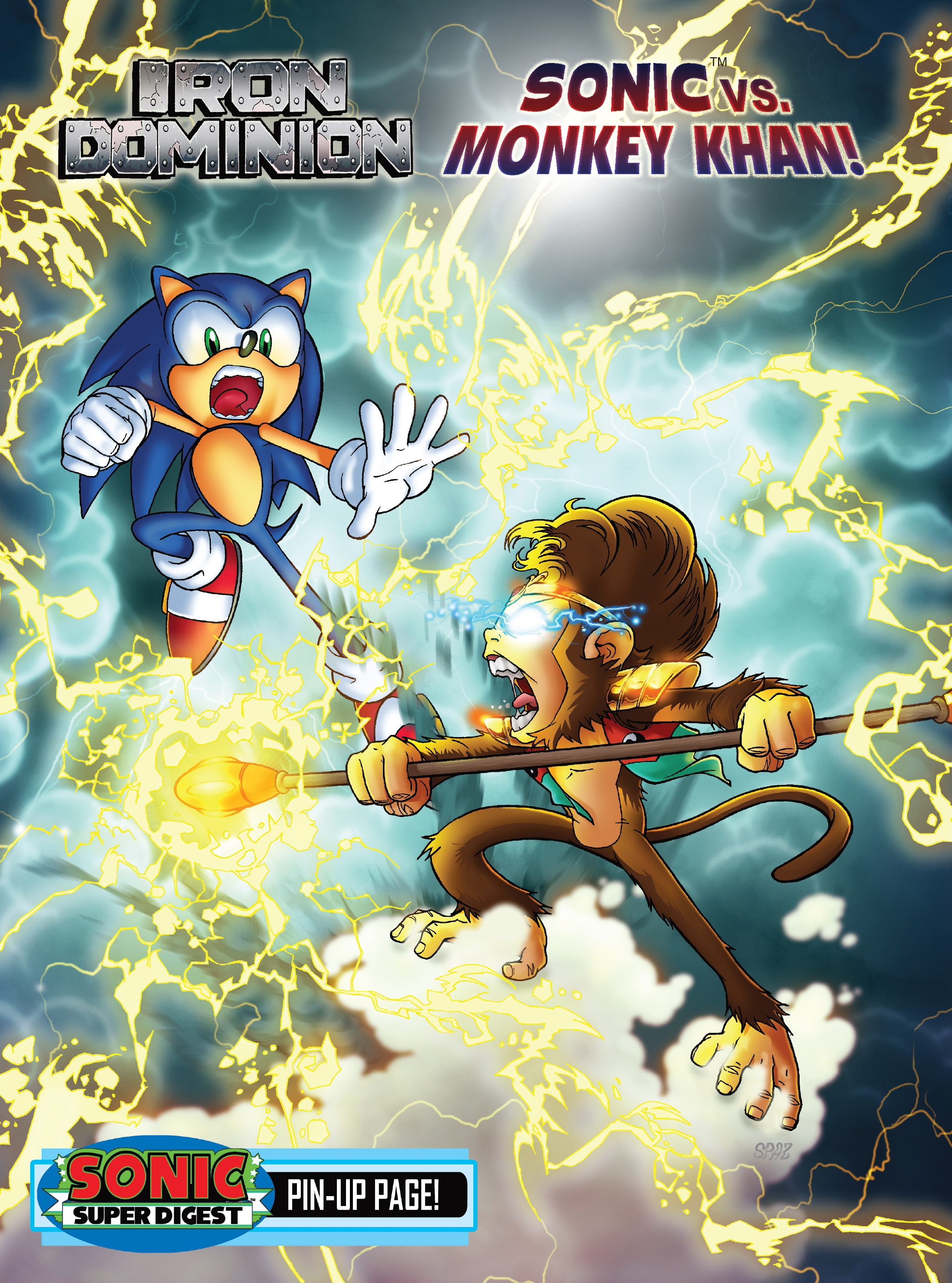 Read online Sonic Super Digest comic -  Issue #7 - 25