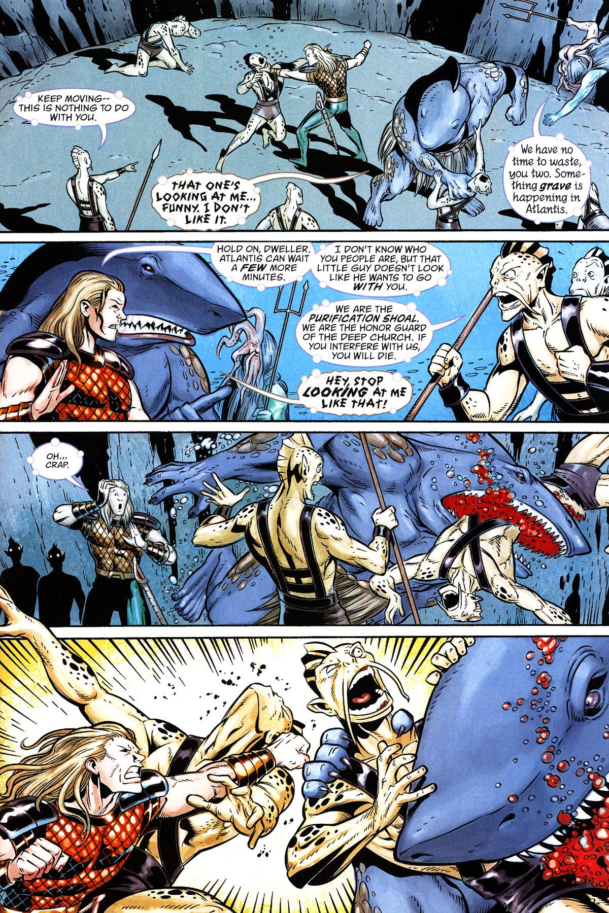 Read online Aquaman: Sword of Atlantis comic -  Issue #50 - 7