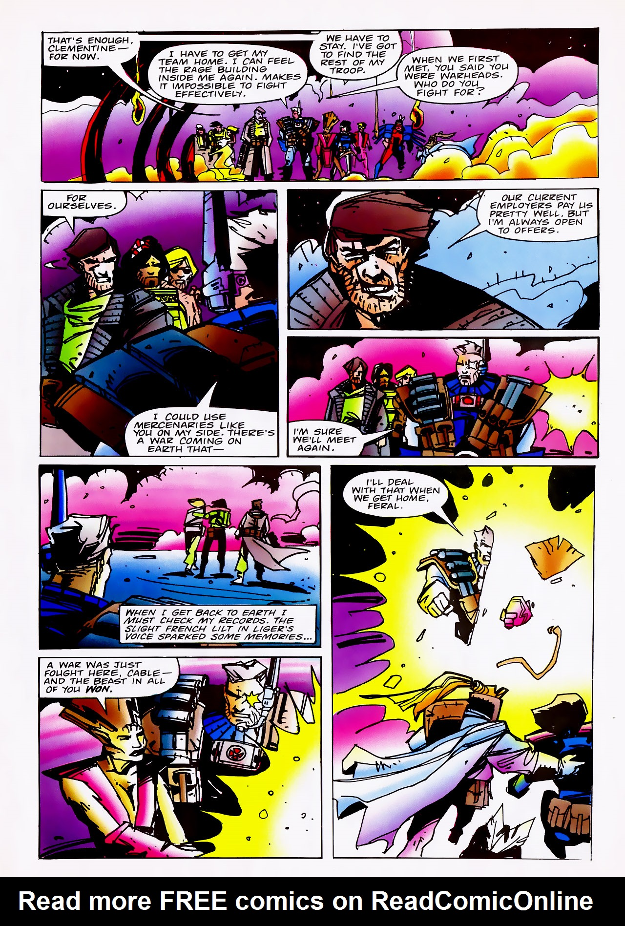 Read online Overkill comic -  Issue #14 - 23
