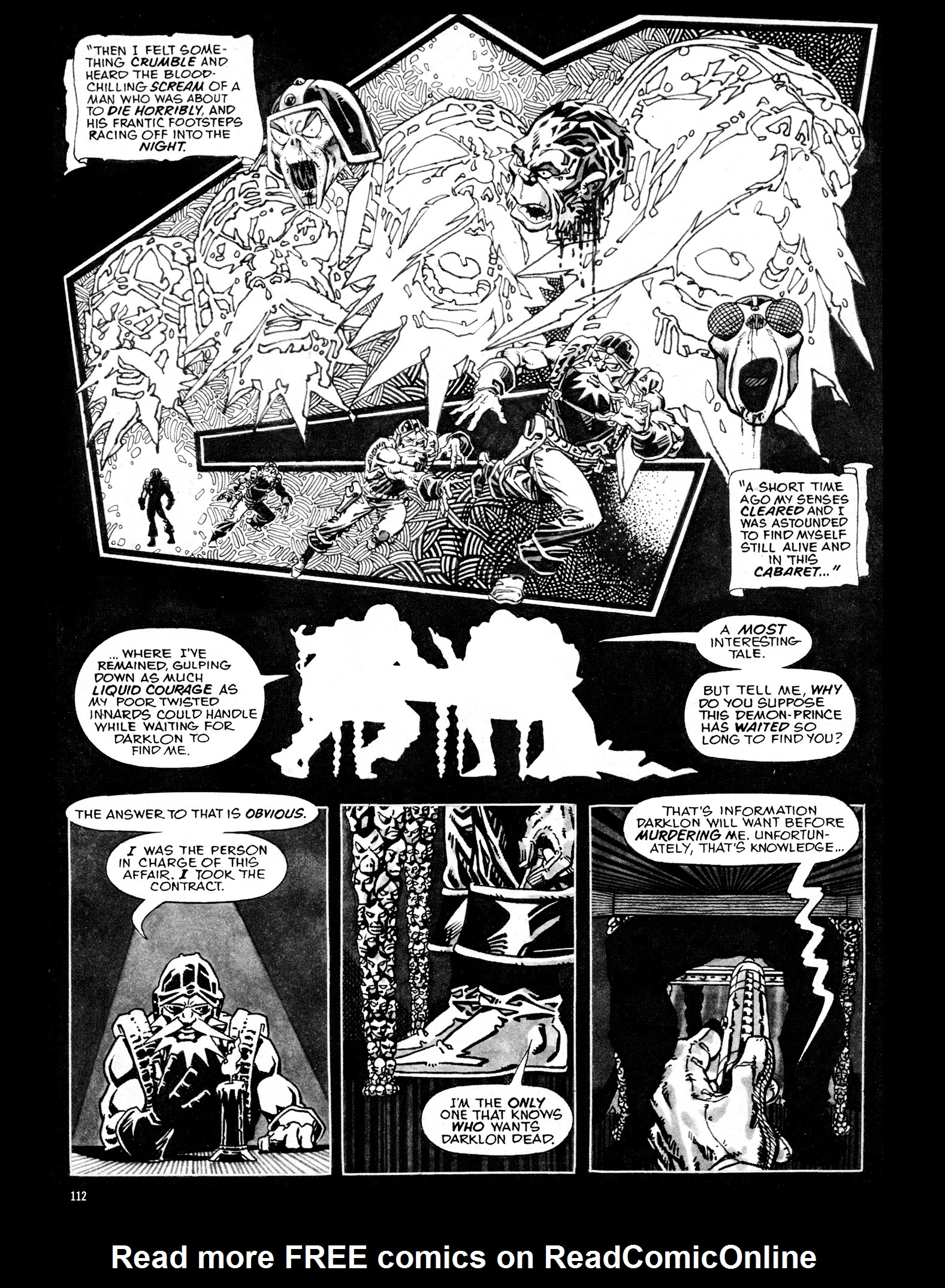 Read online Eerie Archives comic -  Issue # TPB 16 - 113