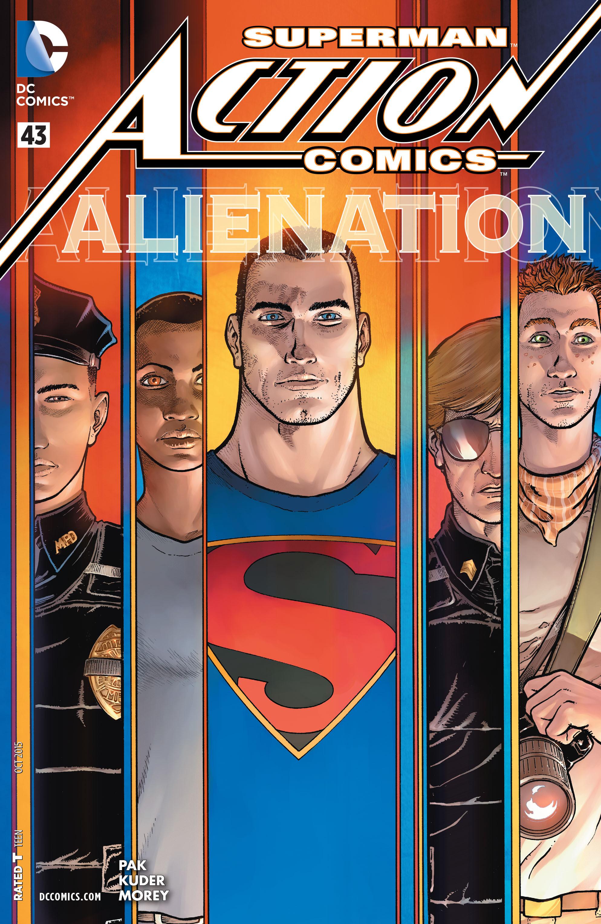 Action Comics (2011) 43 Page 1