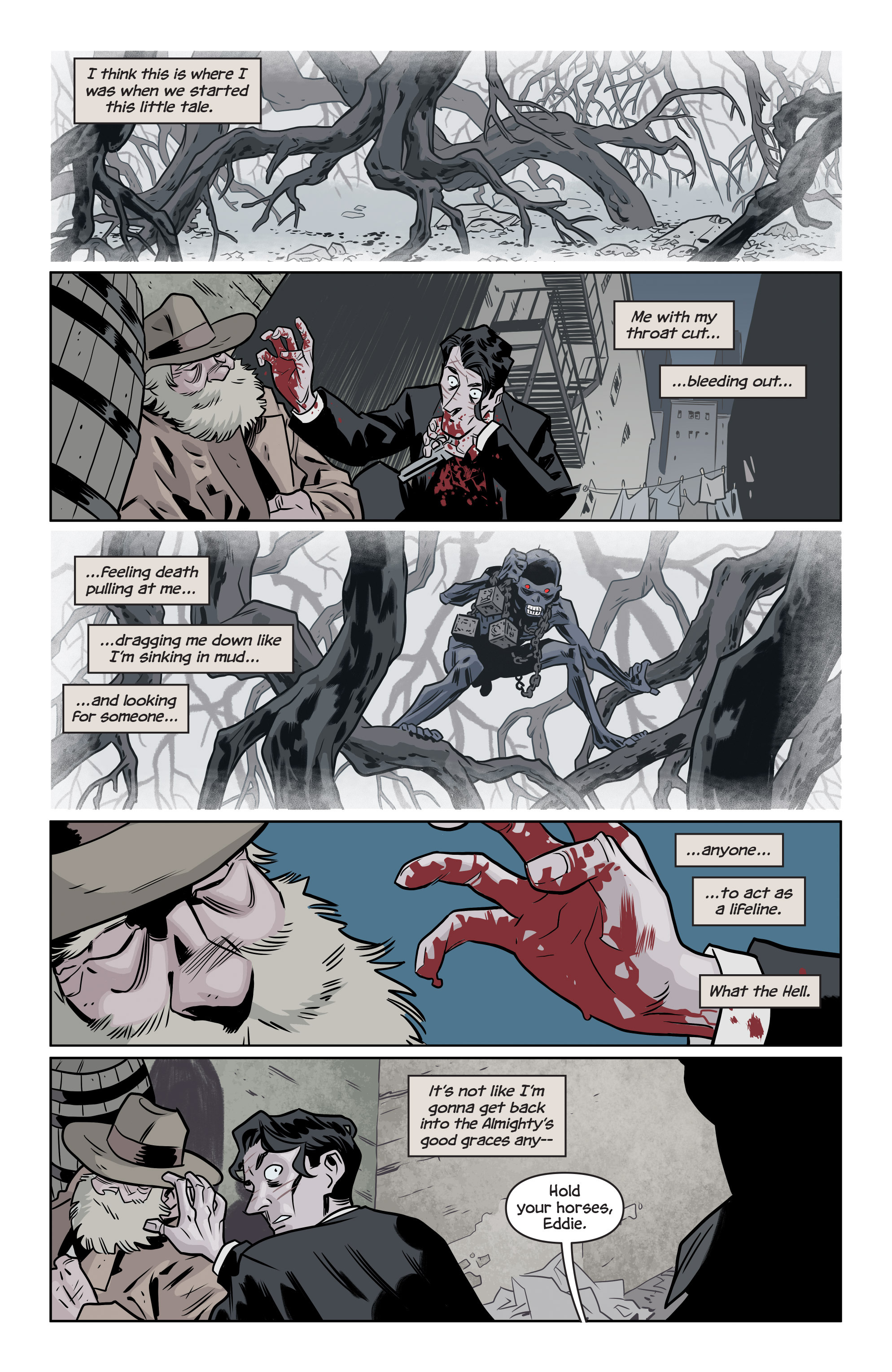 Read online The Damned comic -  Issue #1 - 24