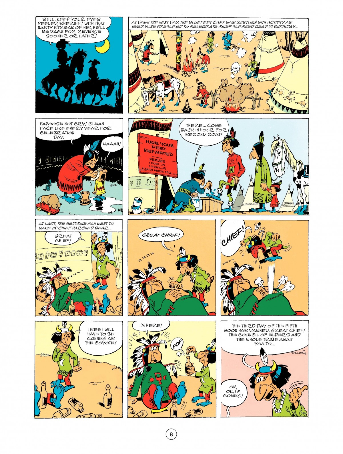 Read online A Lucky Luke Adventure comic -  Issue #43 - 8