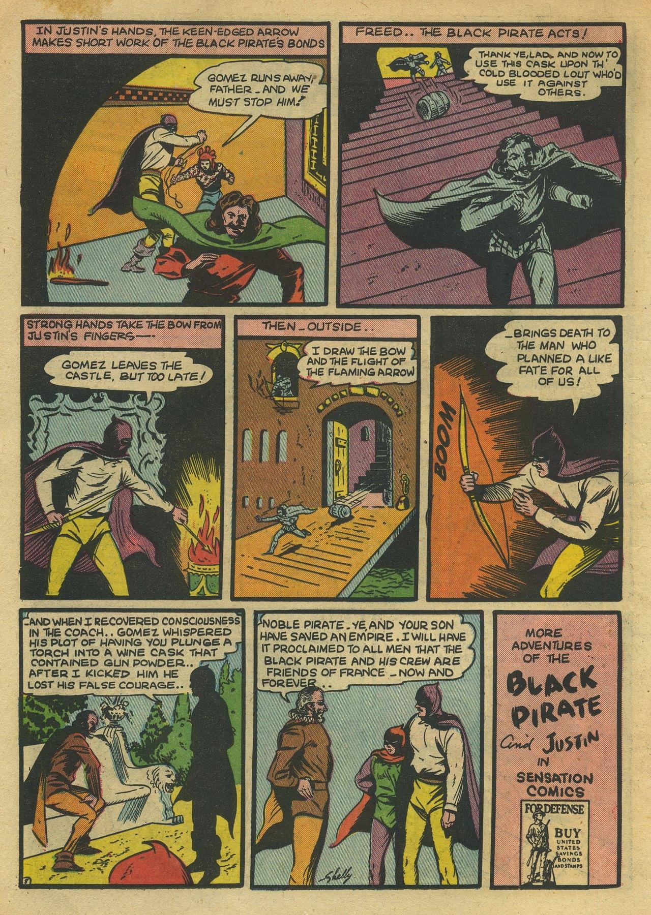 Read online Sensation (Mystery) Comics comic -  Issue #10 - 24