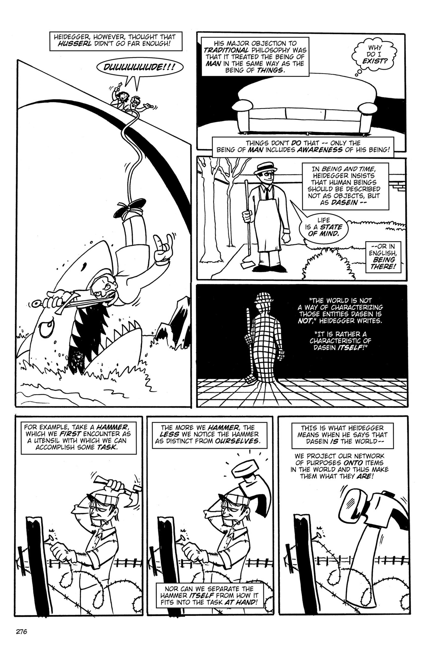 Read online Action Philosophers! comic -  Issue #Action Philosophers! TPB (Part 2) - 104