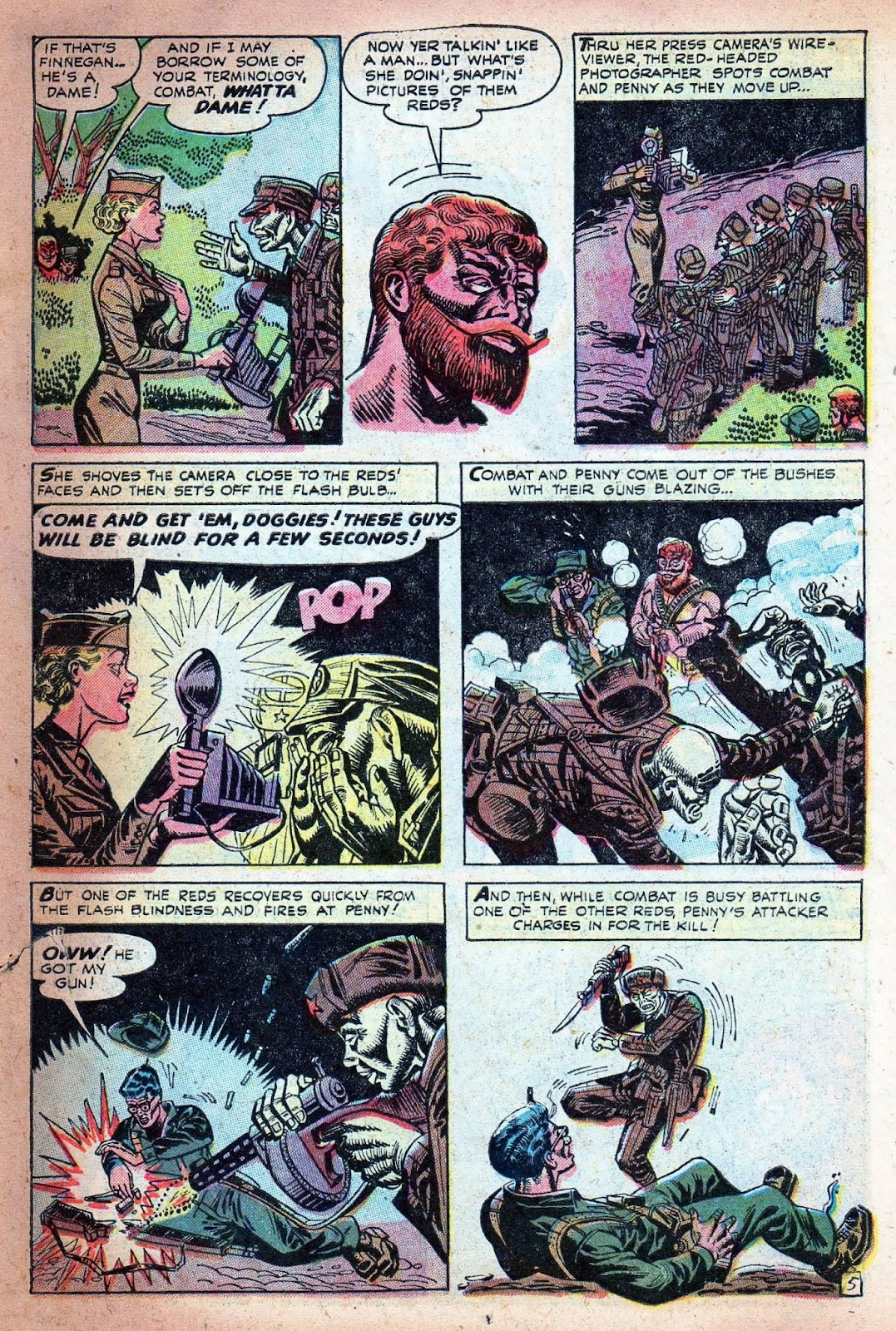 Combat (1952) issue 7 - Page 7