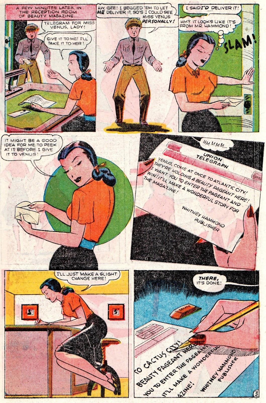 Venus (1948) issue 2 - Page 5