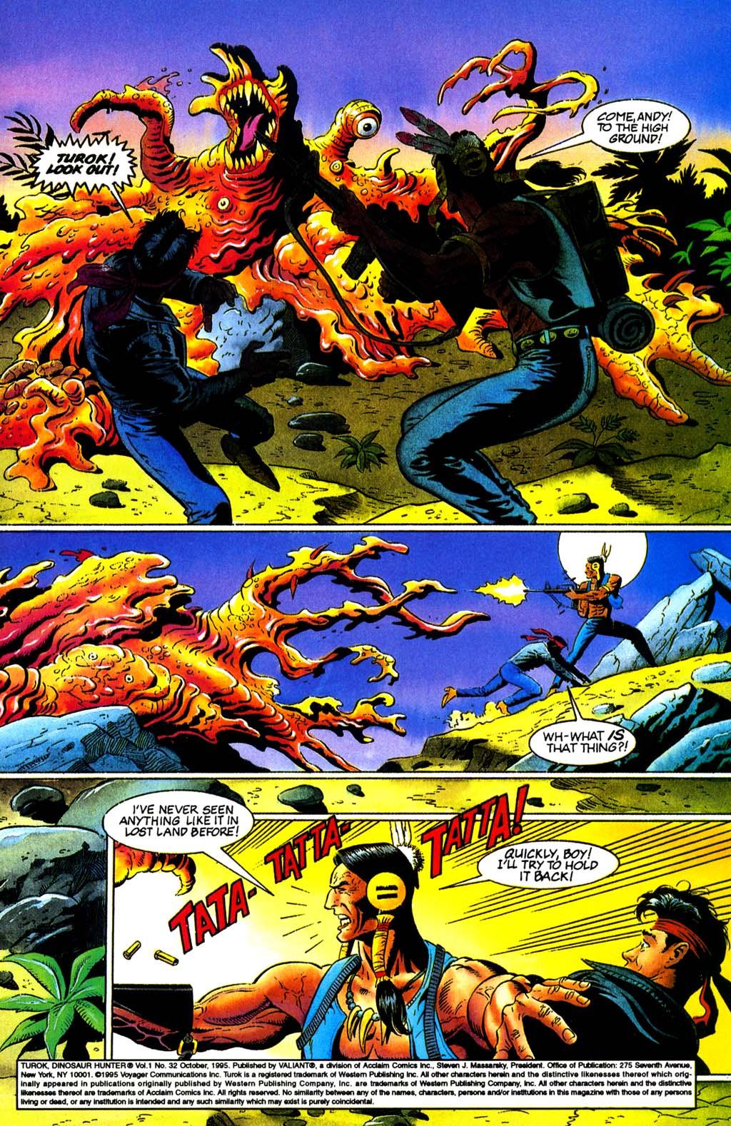 Read online Turok, Dinosaur Hunter (1993) comic -  Issue #32 - 2