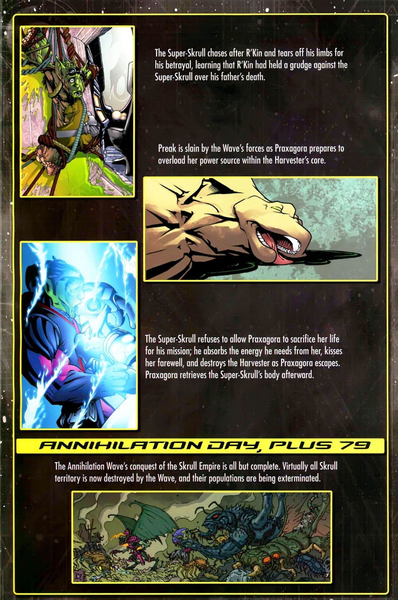 Read online Annihilation: Saga comic -  Issue #Annihilation: Saga Full - 18