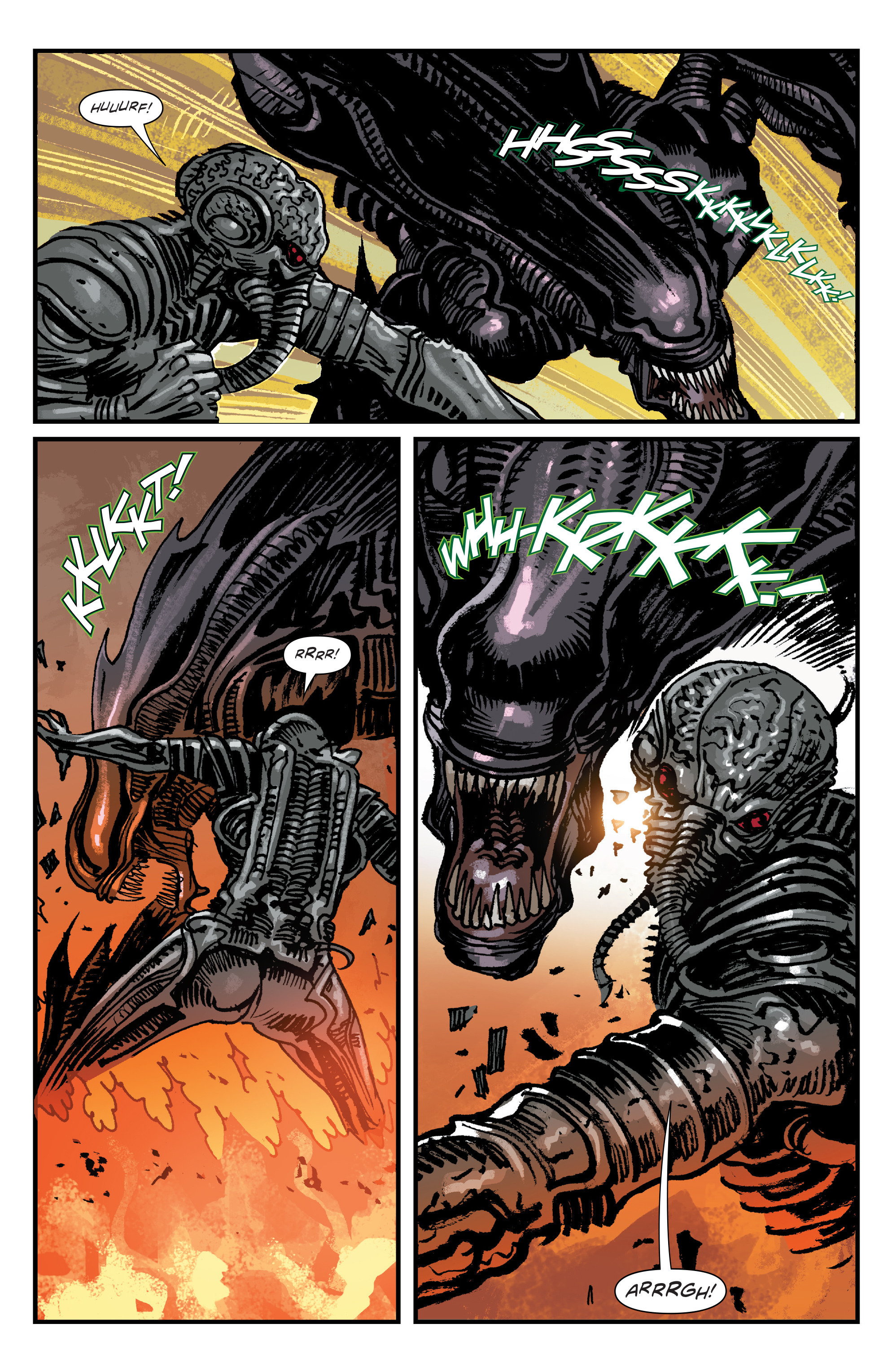 Read online Aliens: Life And Death comic -  Issue #4 - 17