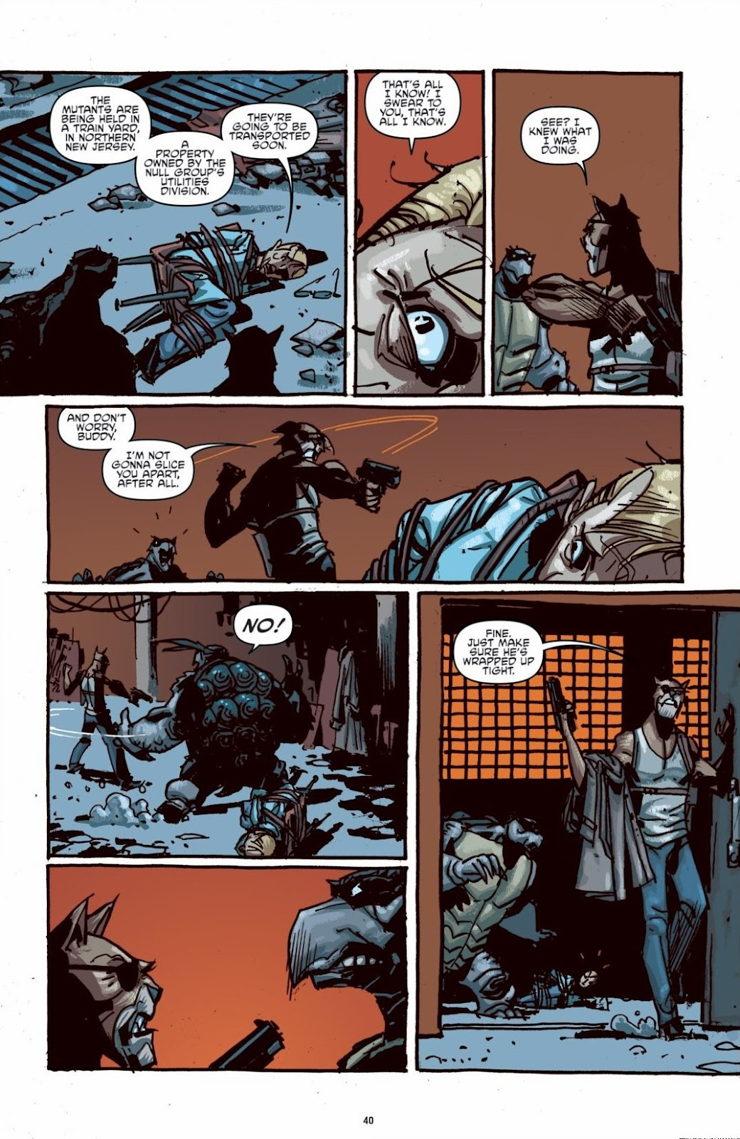 Read online Teenage Mutant Ninja Turtles: The IDW Collection comic -  Issue # TPB 6 (Part 1) - 39