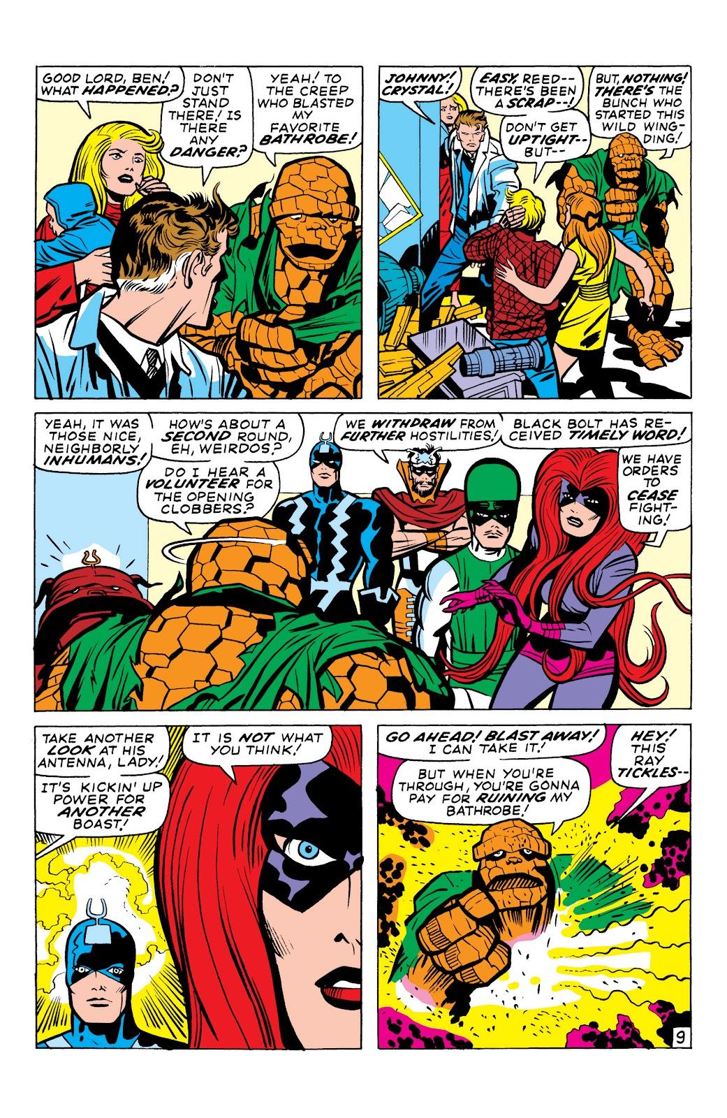 Read online Marvel Masterworks: The Inhumans comic -  Issue # TPB 1 (Part 1) - 89