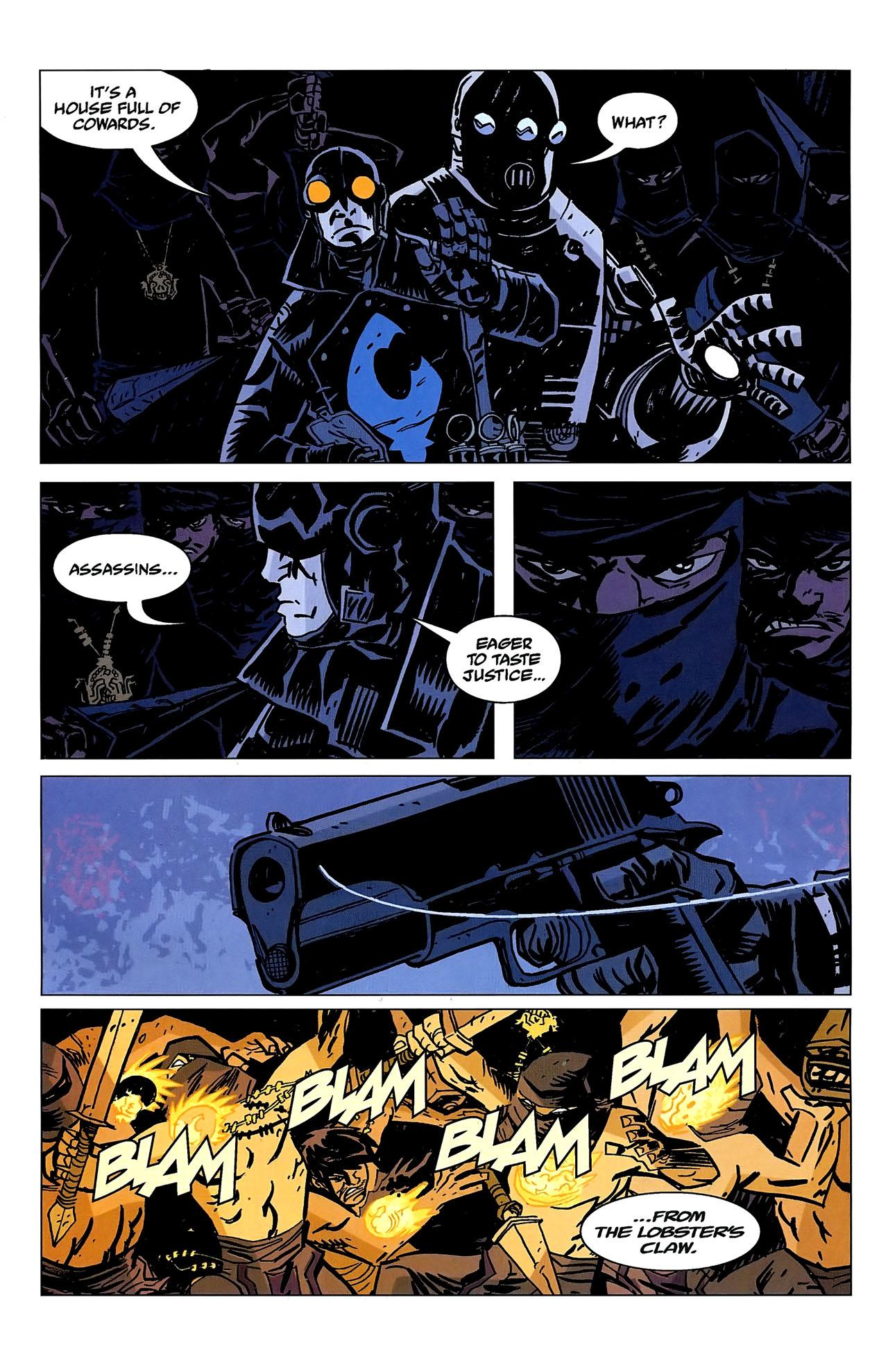 Read online Lobster Johnson: The Iron Prometheus comic -  Issue #2 - 5