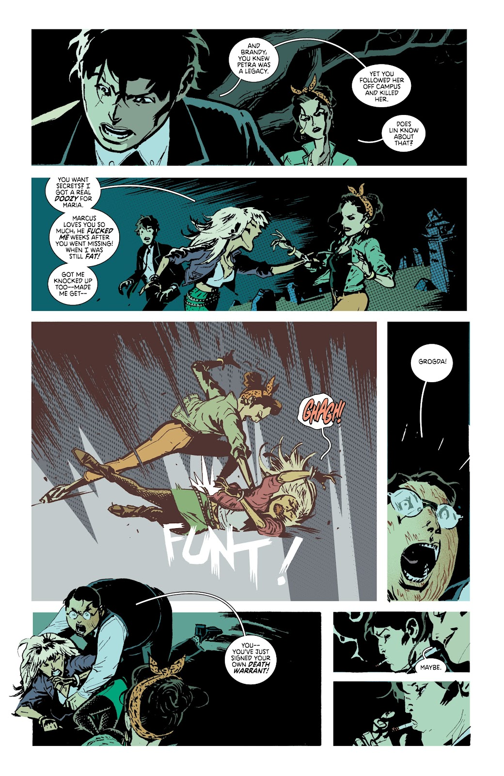Read online Deadly Class comic -  Issue #38 - 23