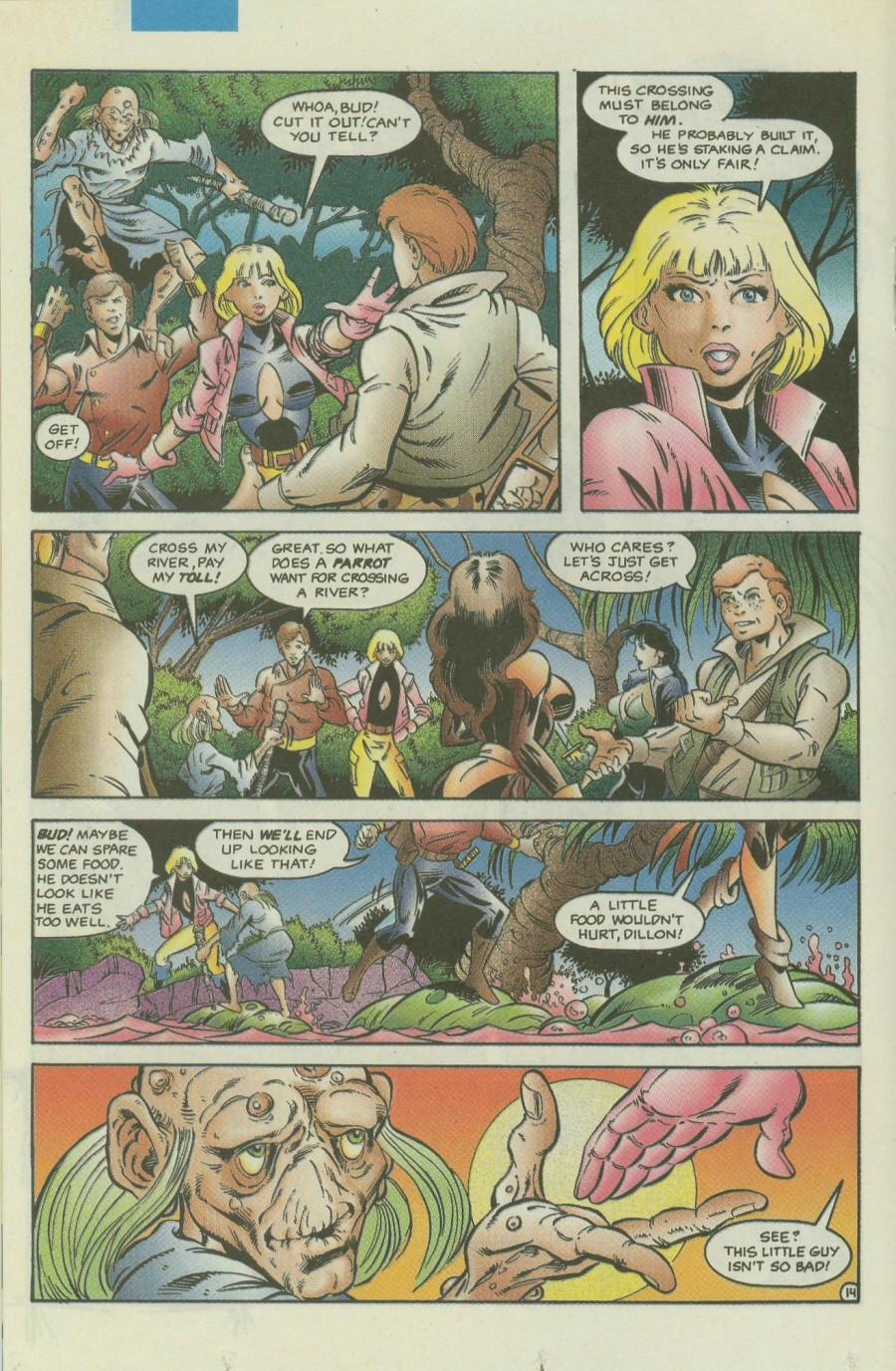 Read online Ex-Mutants comic -  Issue #4 - 17