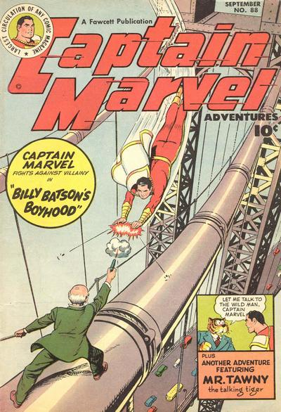 Captain Marvel Adventures issue 88 - Page 1