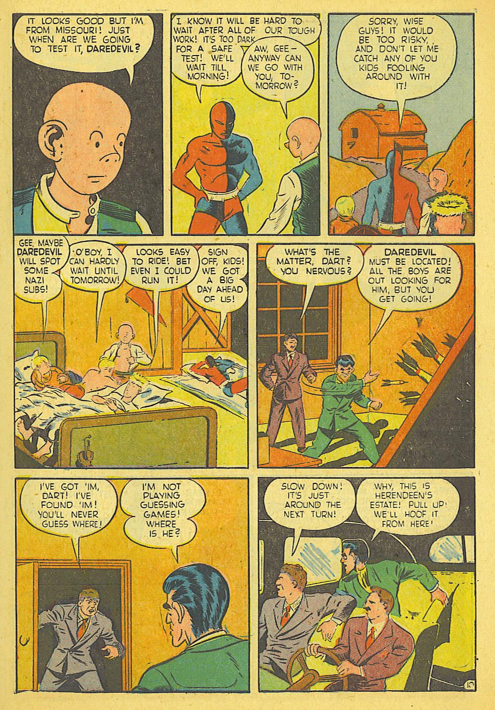 Daredevil (1941) issue 21 - Page 11
