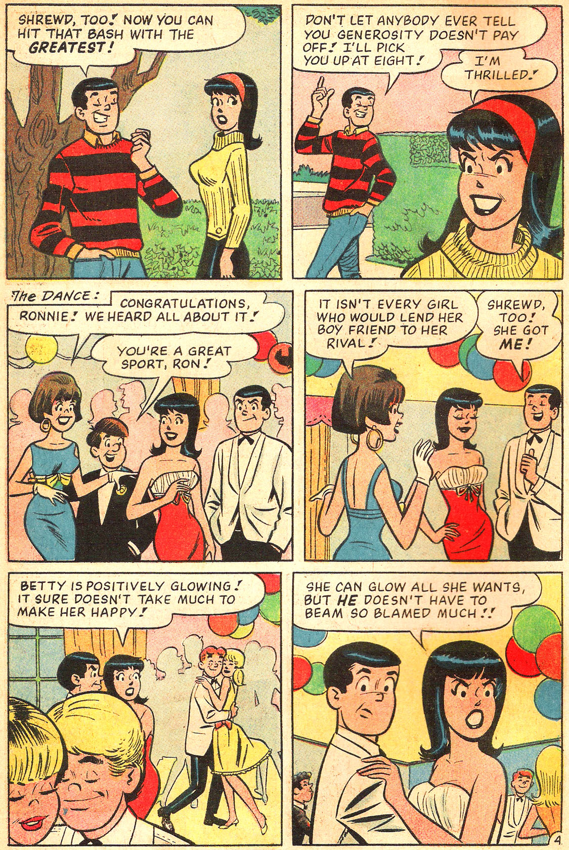 Read online Archie's Girls Betty and Veronica comic -  Issue #134 - 6