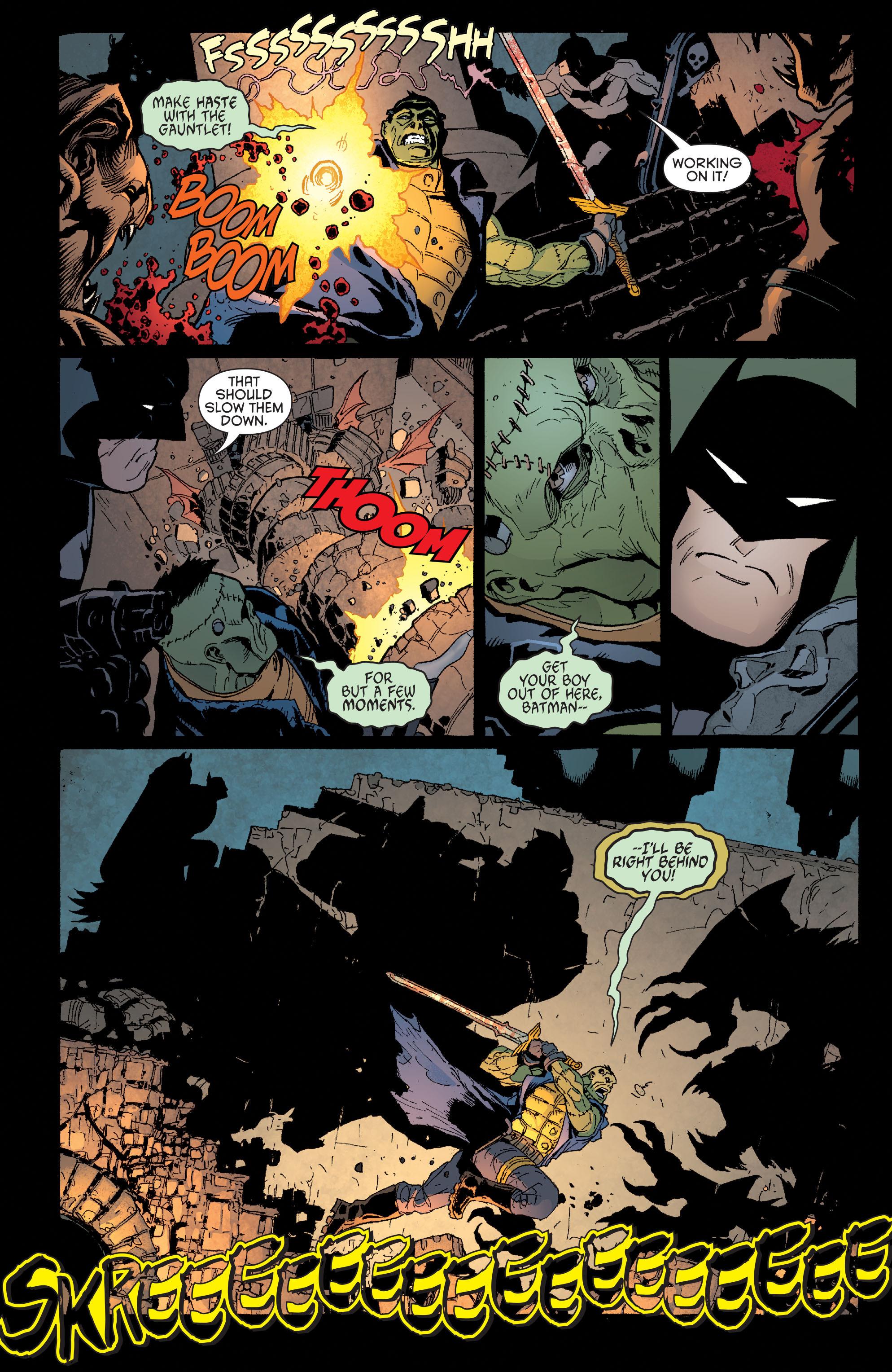 Read online Batman and Robin (2011) comic -  Issue #32 - Batman and Ra's al Ghul - 10
