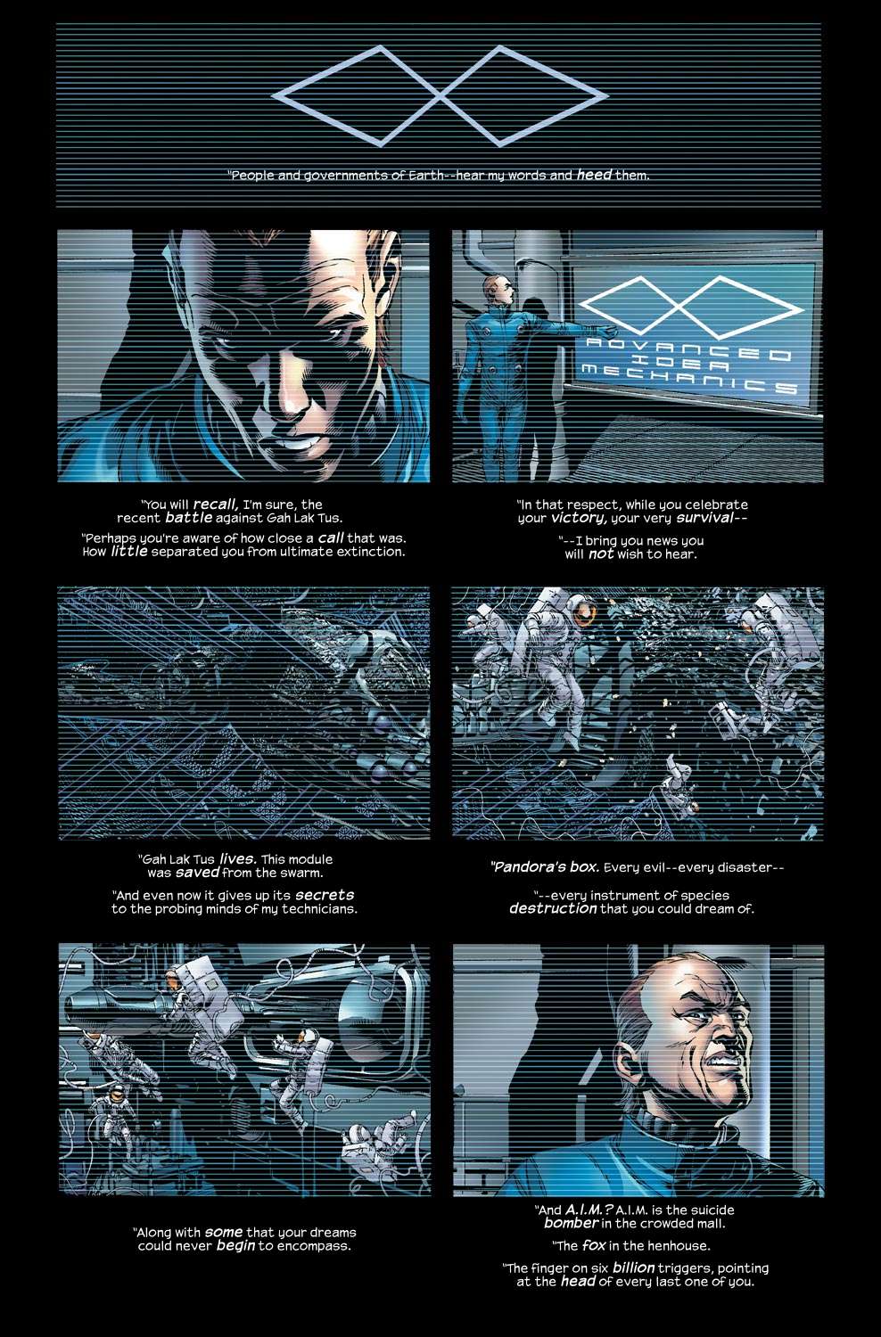 Read online Ultimate Vision comic -  Issue #2 - 8