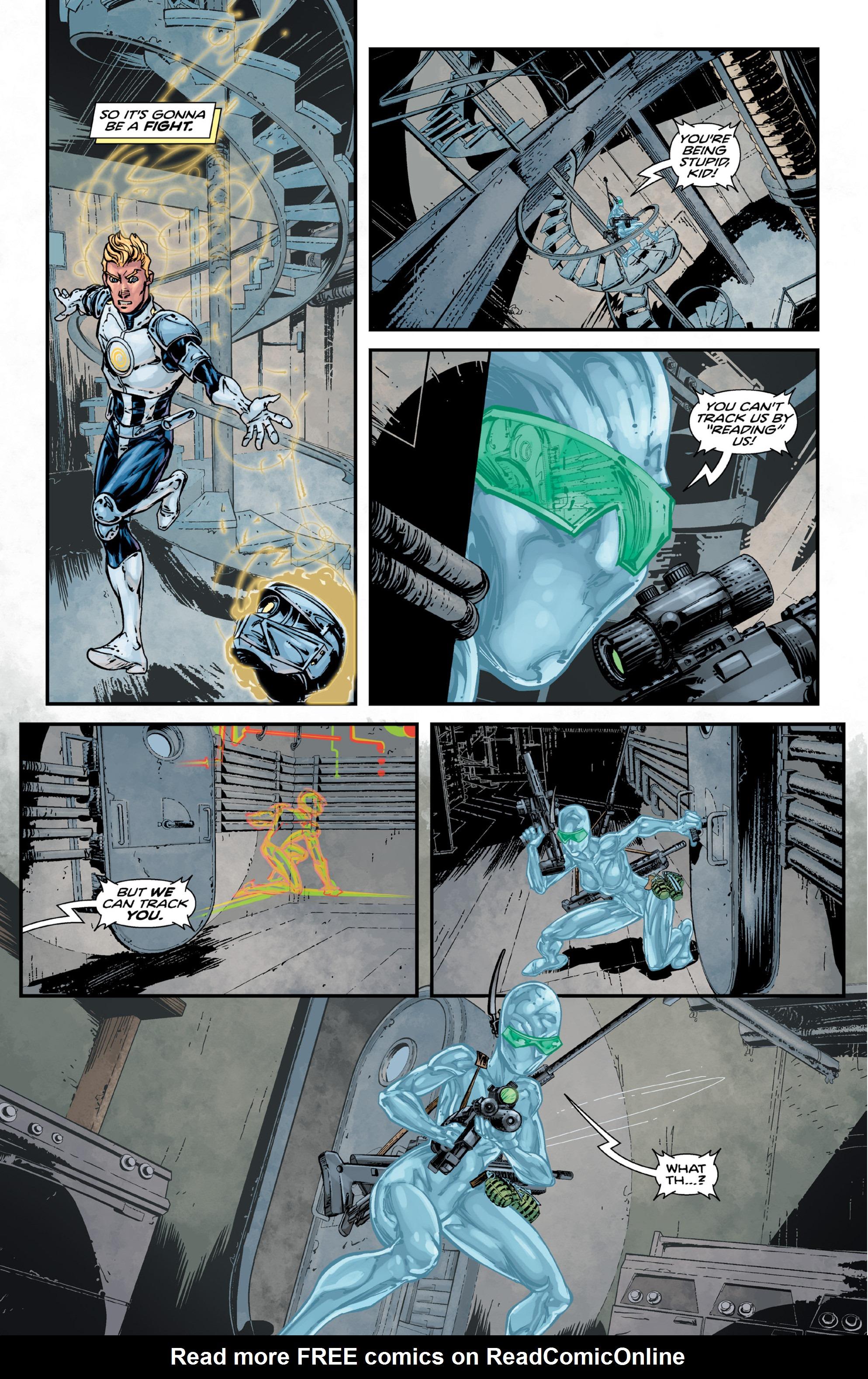 Read online Brain Boy:  The Men from G.E.S.T.A.L.T. comic -  Issue # TPB - 81
