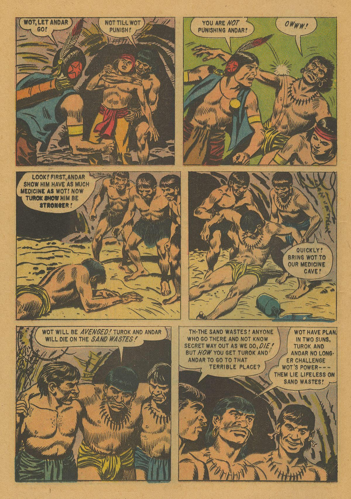 Read online Turok, Son of Stone comic -  Issue #21 - 24