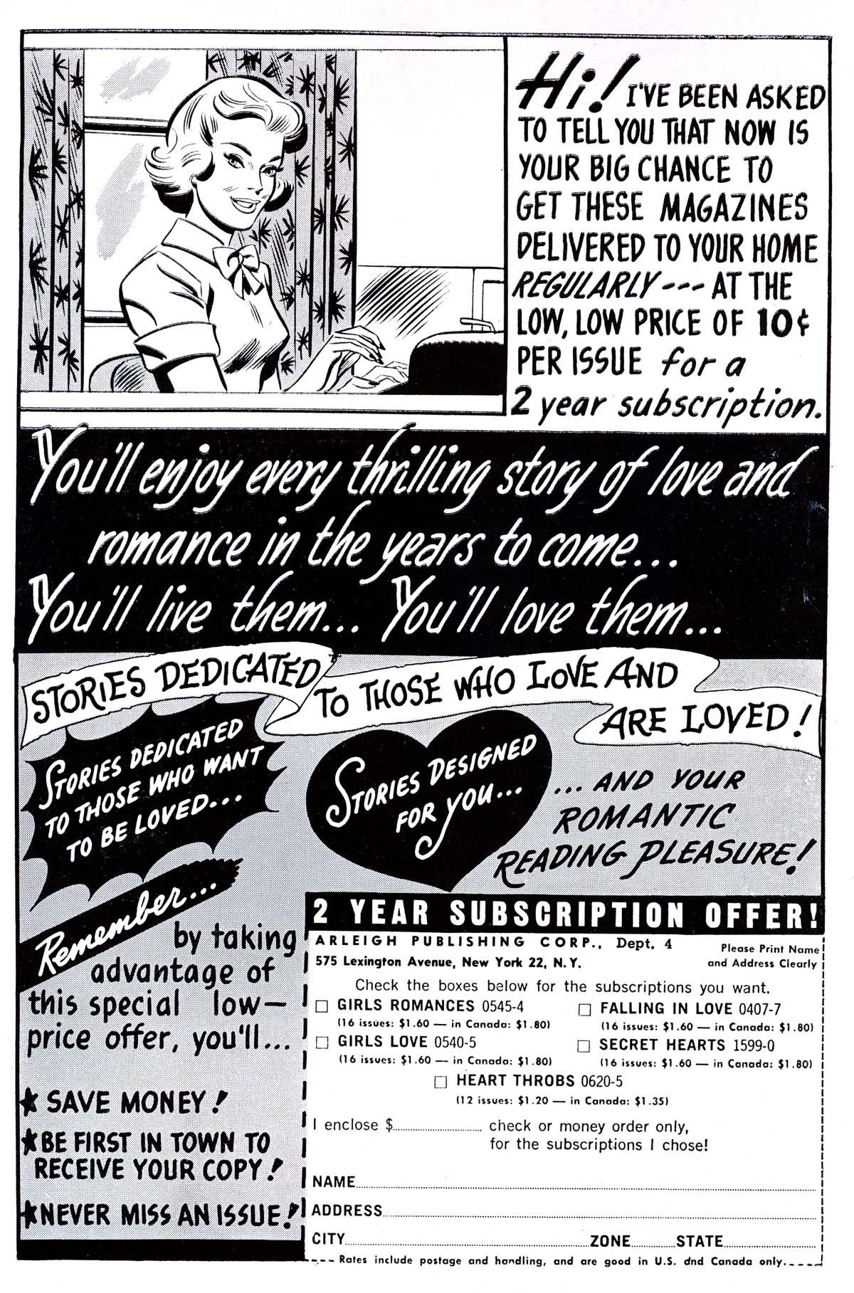 Read online Secret Hearts comic -  Issue #89 - 35