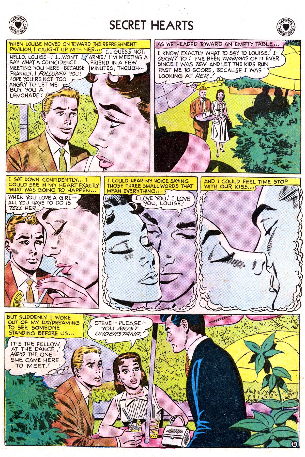 Read online Secret Hearts comic -  Issue #42 - 32