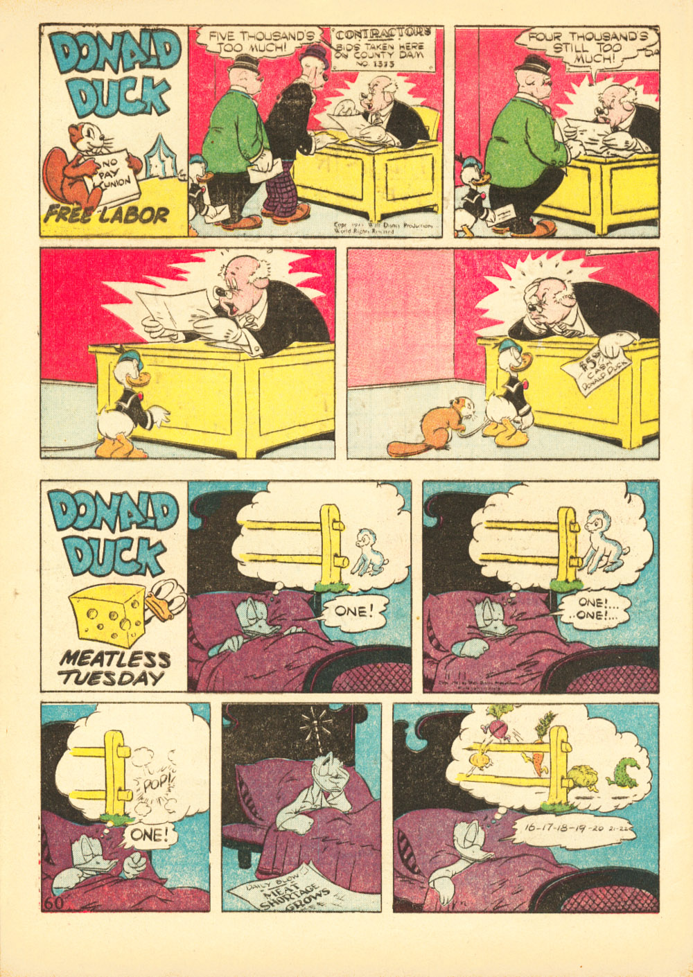 Walt Disney's Comics and Stories issue 38 - Page 62