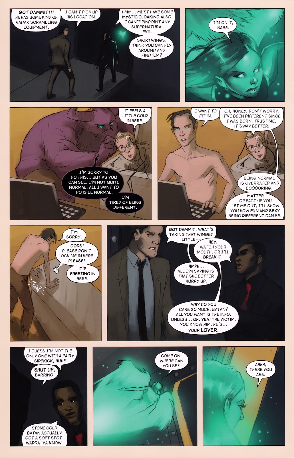 Read online Vescell comic -  Issue #6 - 24