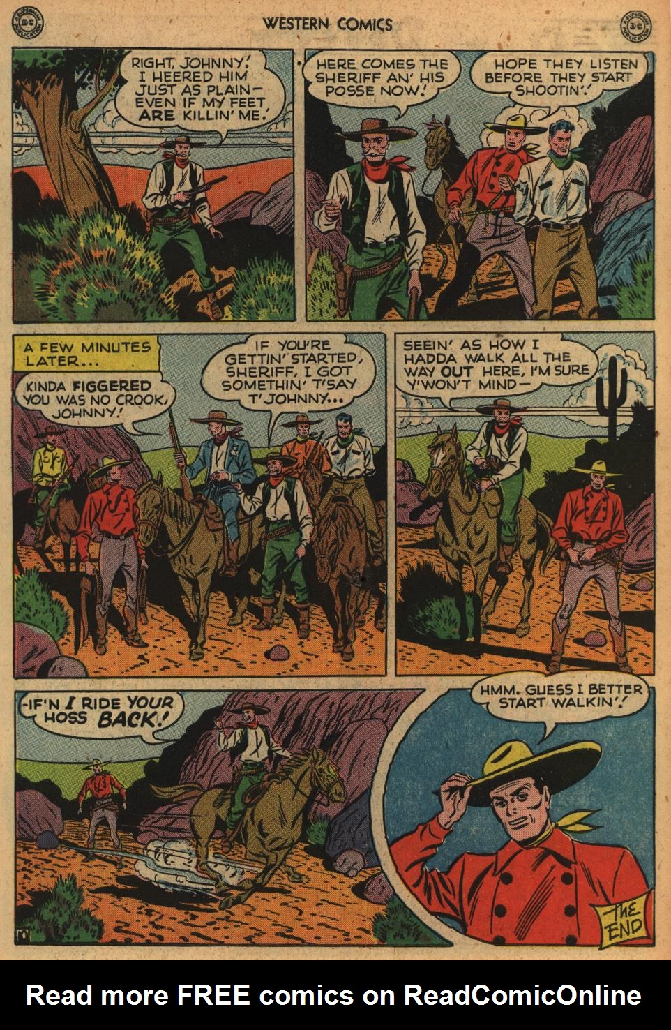 Western Comics issue 1 - Page 48