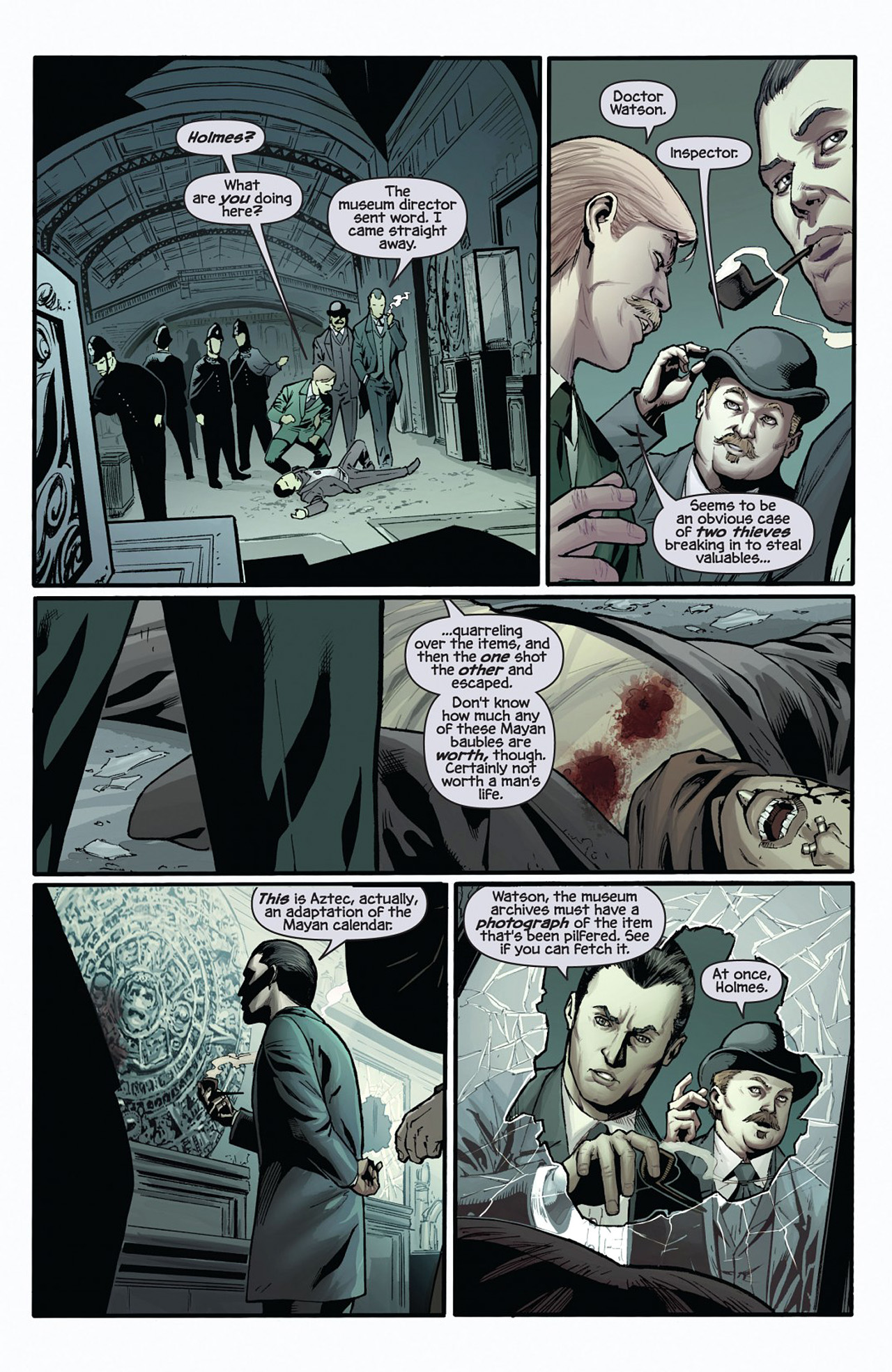 Read online Prophecy comic -  Issue #1 - 5