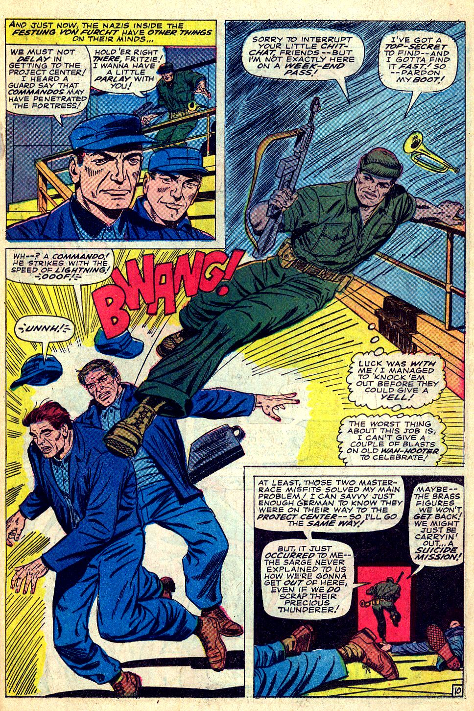 Read online Sgt. Fury comic -  Issue #39 - 15