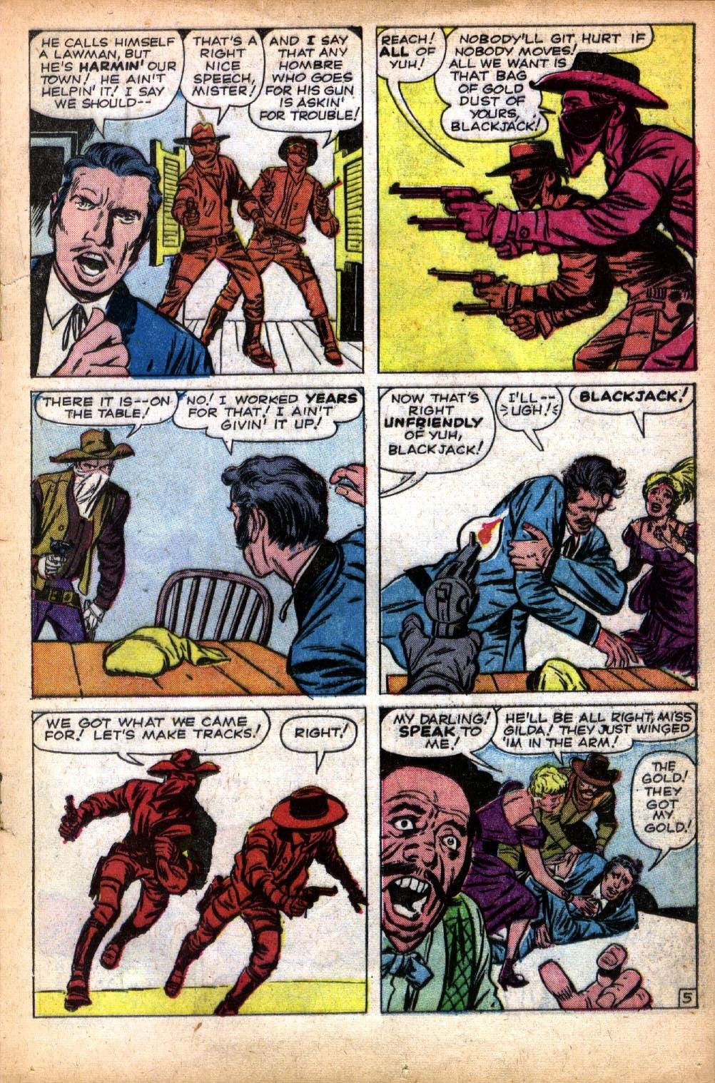 Gunsmoke Western issue 66 - Page 17