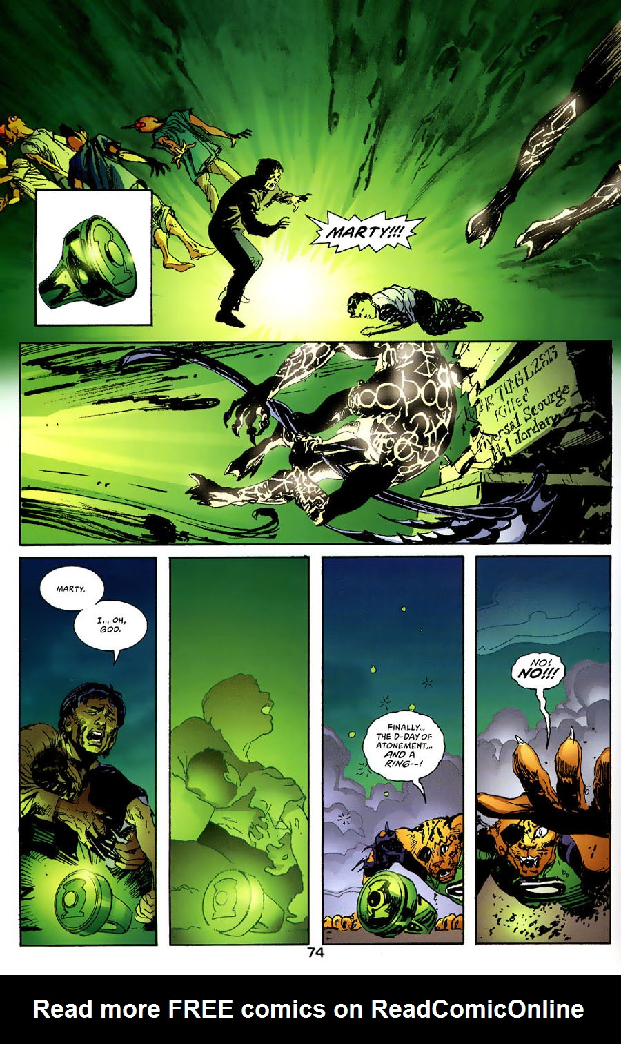 Read online Green Lantern: Legacy: The Last Will and Testament of Hal Jordan comic -  Issue # TPB - 80