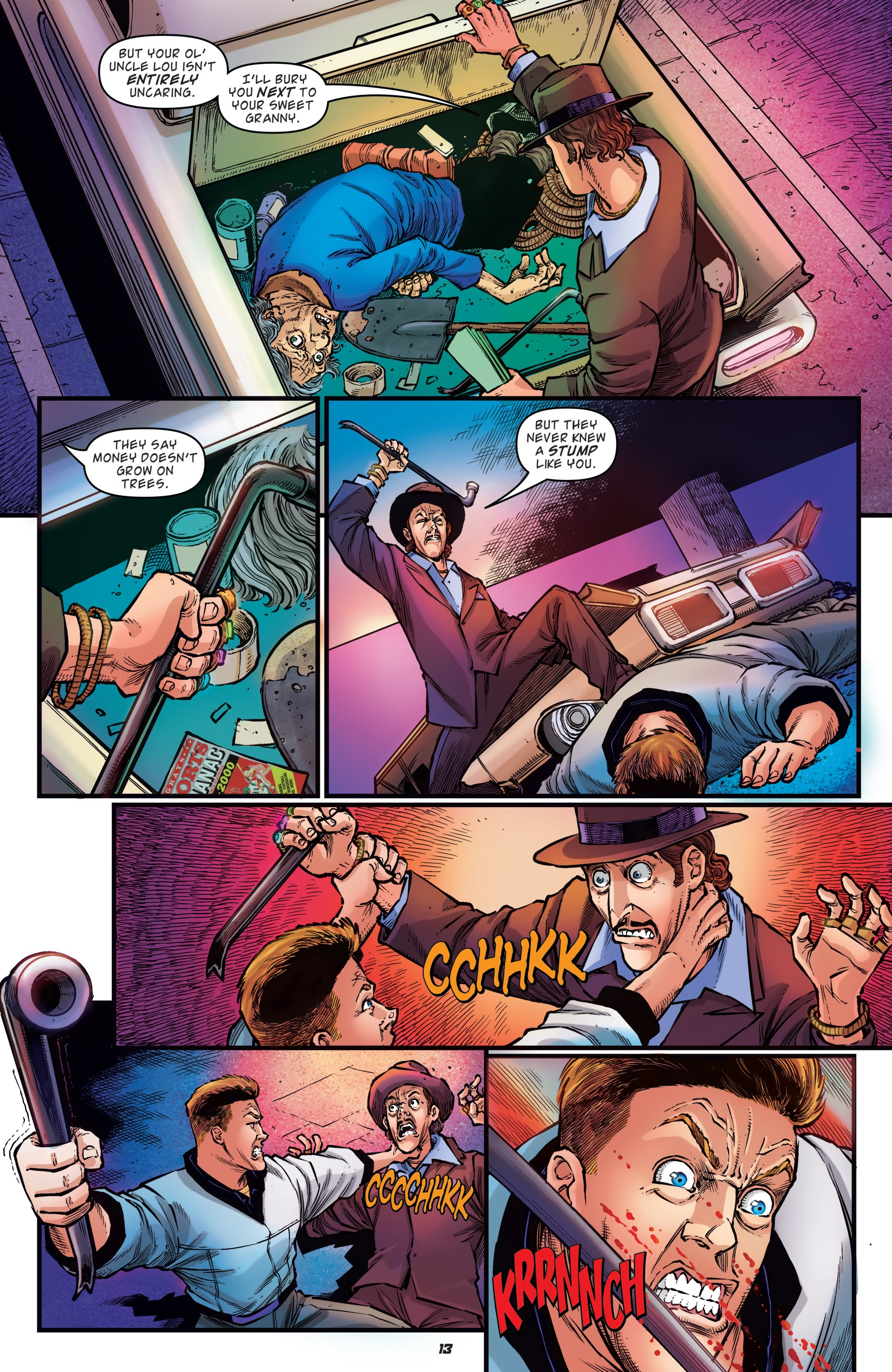 Read online Back to the Future: Biff to the Future comic -  Issue #1 - 15