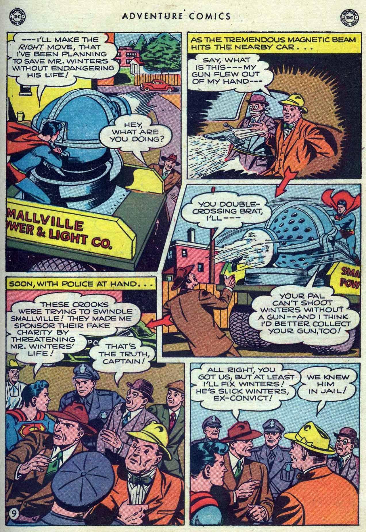 Read online Adventure Comics (1938) comic -  Issue #149 - 11