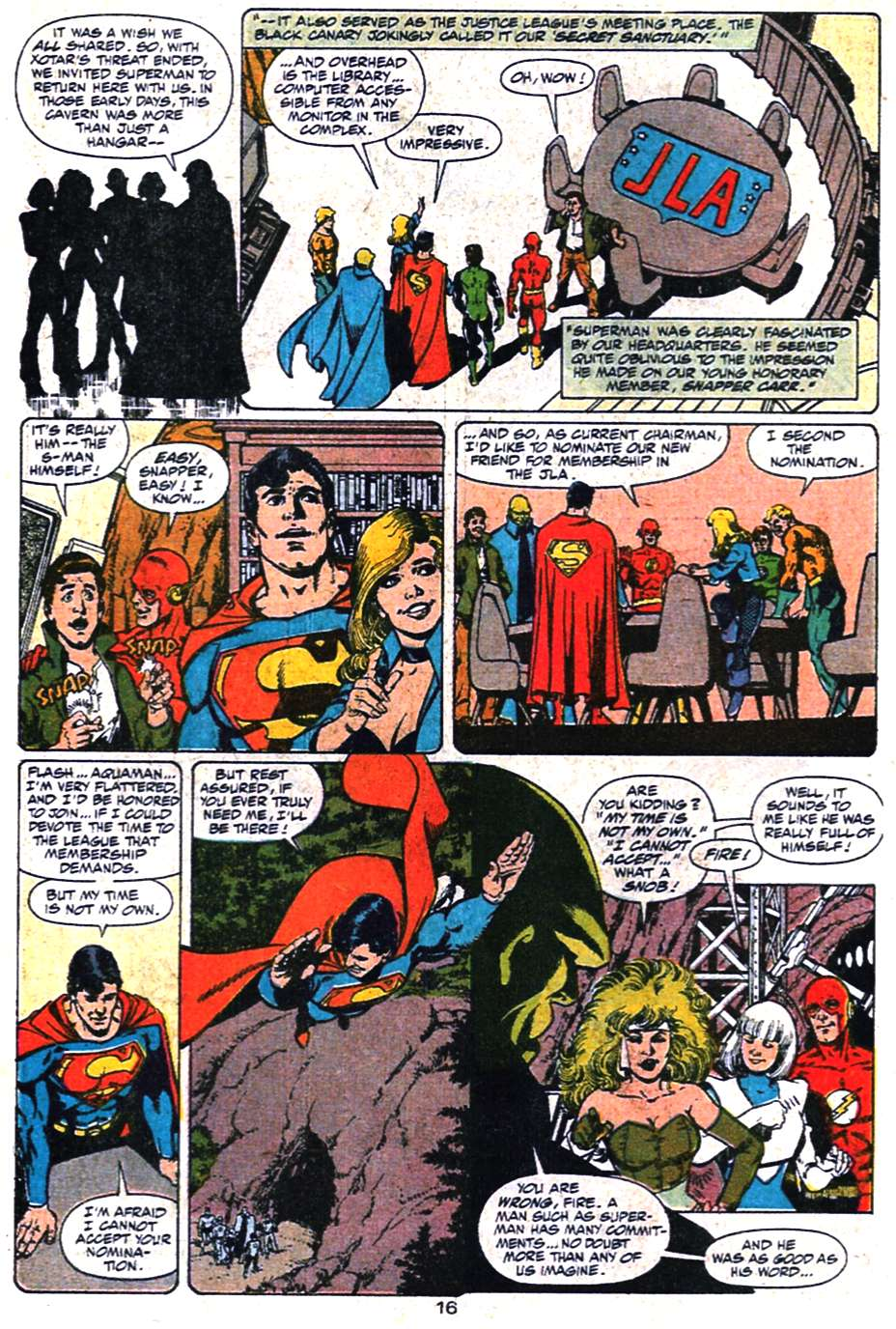 Read online Action Comics (1938) comic -  Issue #650 - 17