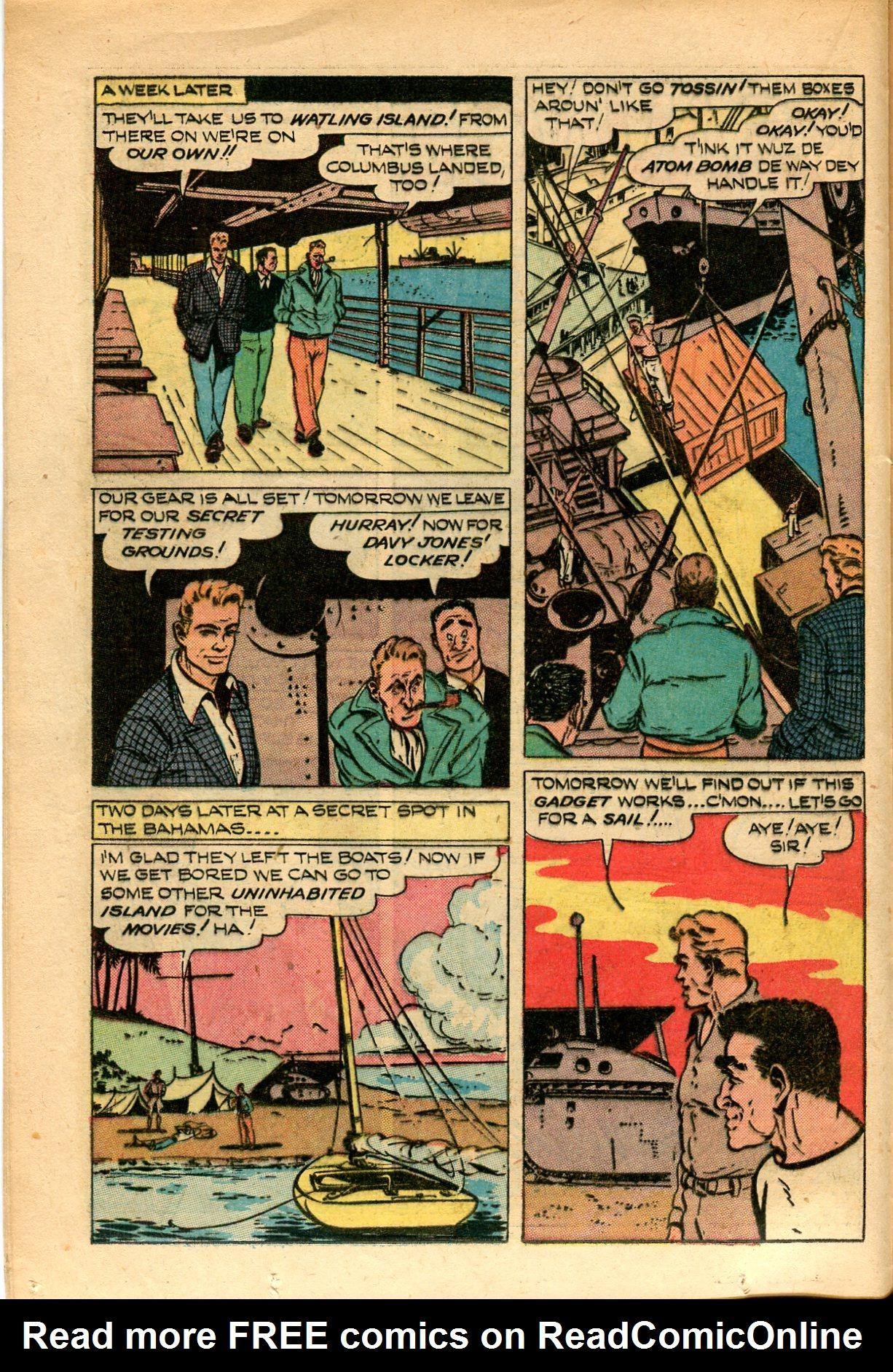 Read online Shadow Comics comic -  Issue #82 - 18