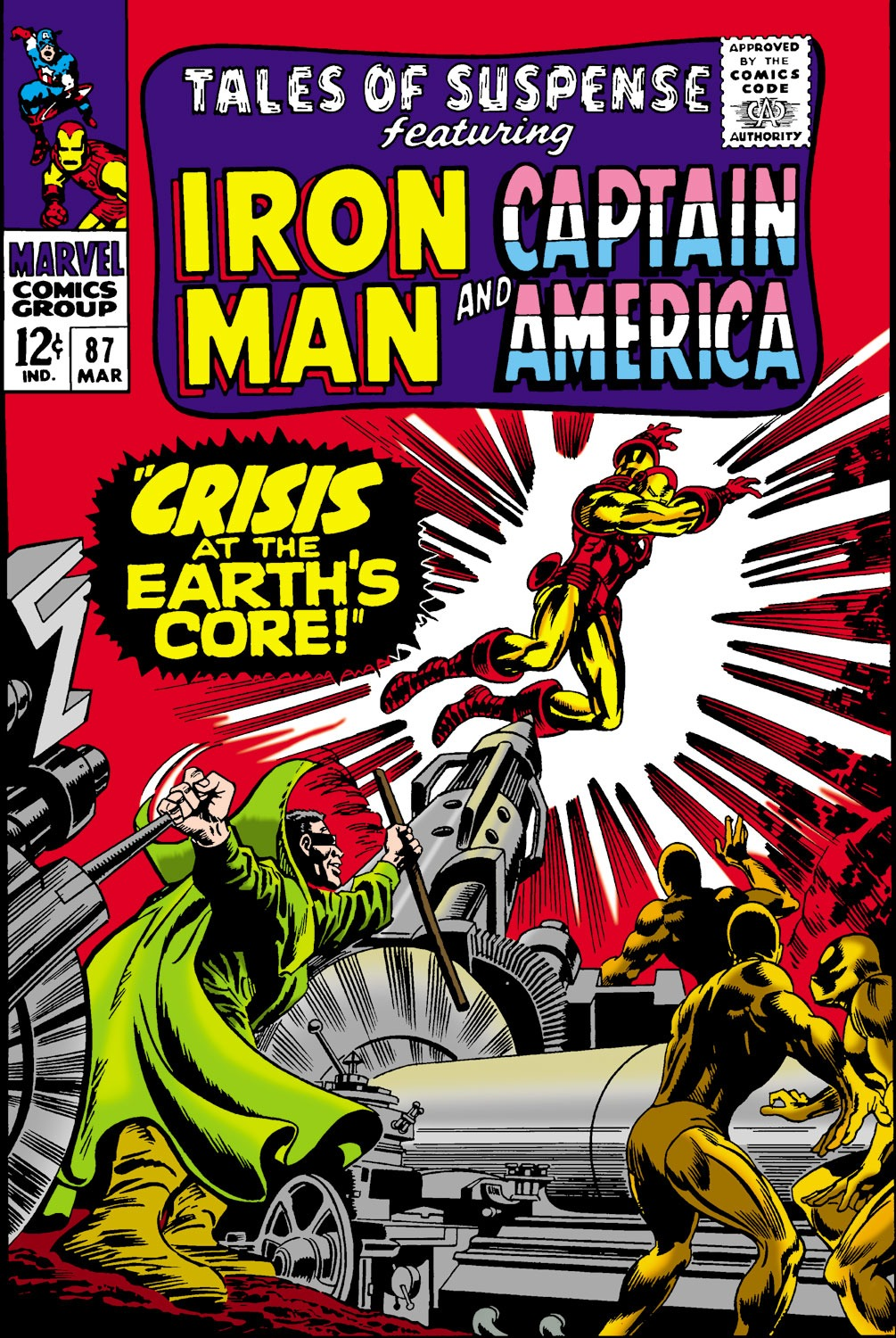 Tales of Suspense (1959) issue 87 - Page 1