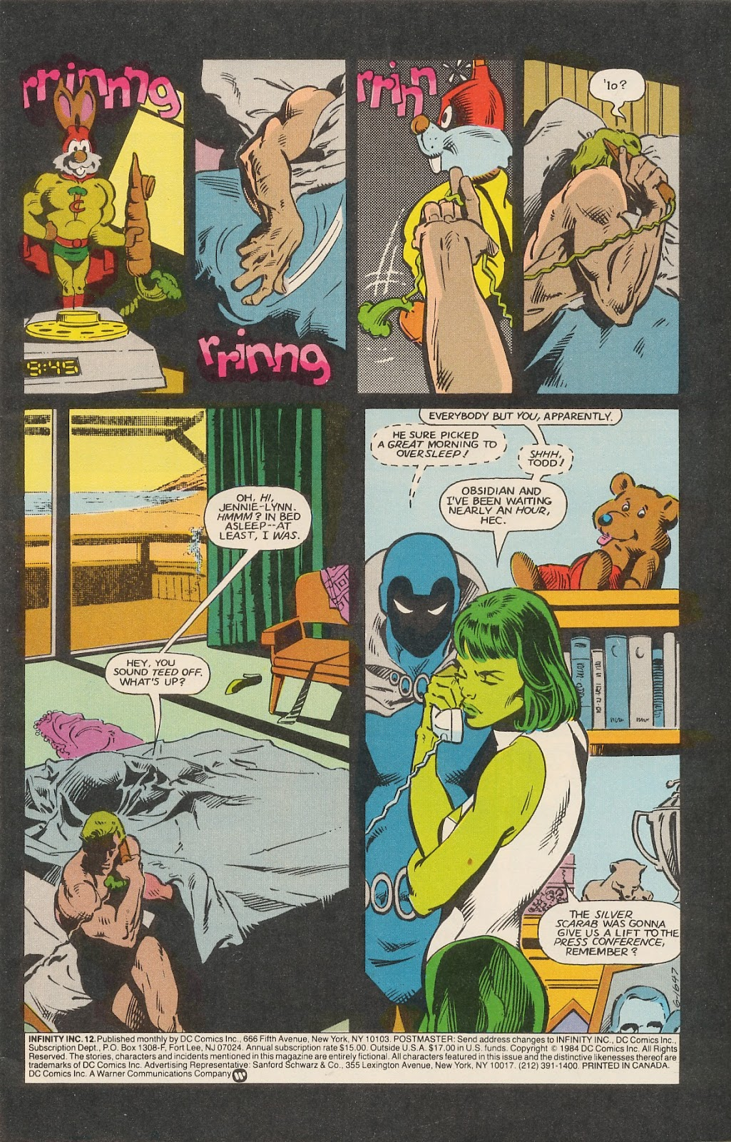 Infinity Inc. (1984) issue 12 - Page 3