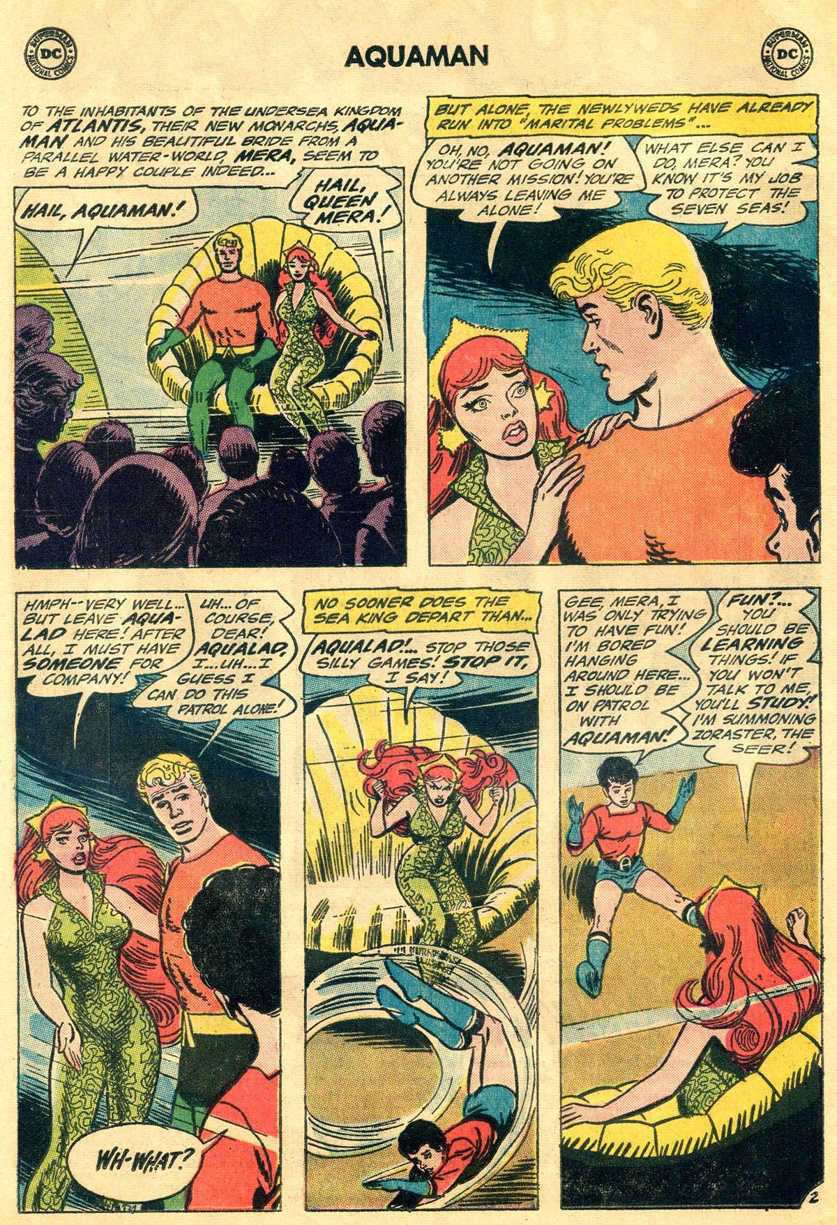 Read online Aquaman (1962) comic -  Issue #19 - 4