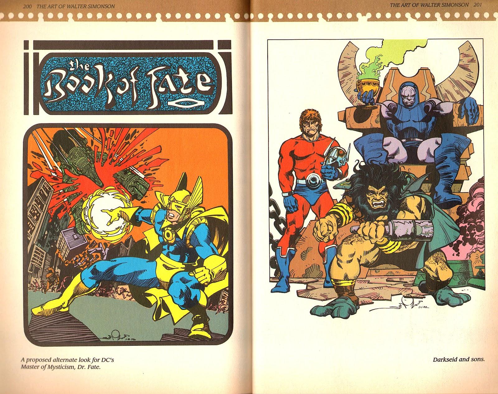 Read online The Art of Walter Simonson comic -  Issue # TPB - 102