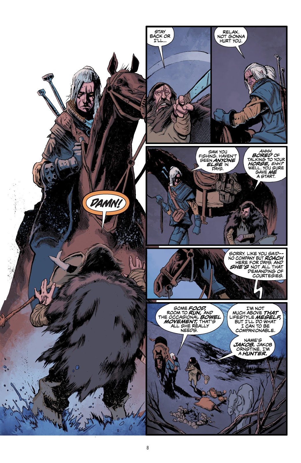 Read online The Witcher Omnibus comic -  Issue # TPB (Part 1) - 9