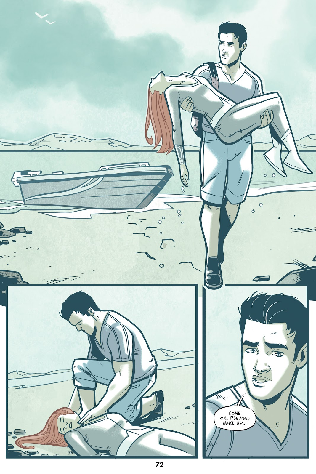 Read online Mera: Tidebreaker comic -  Issue # TPB (Part 1) - 72